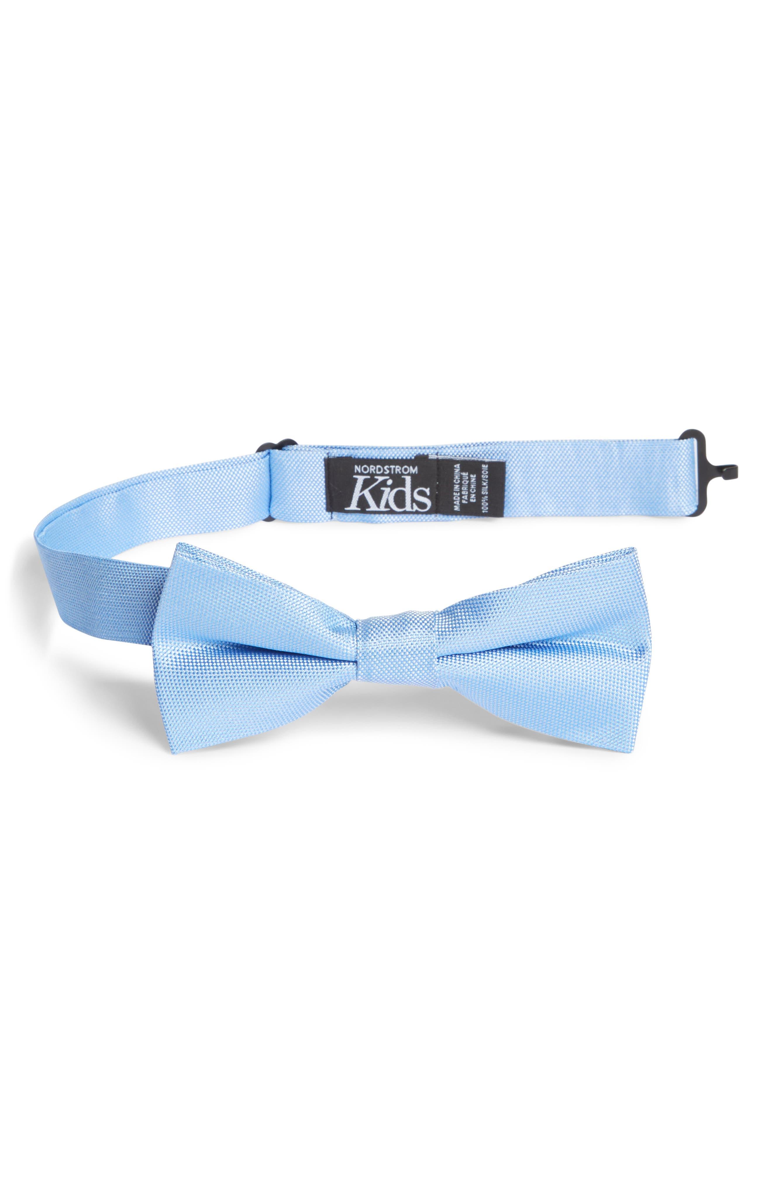 Nordstrom Natte Silk Bow Tie (Big Boys)