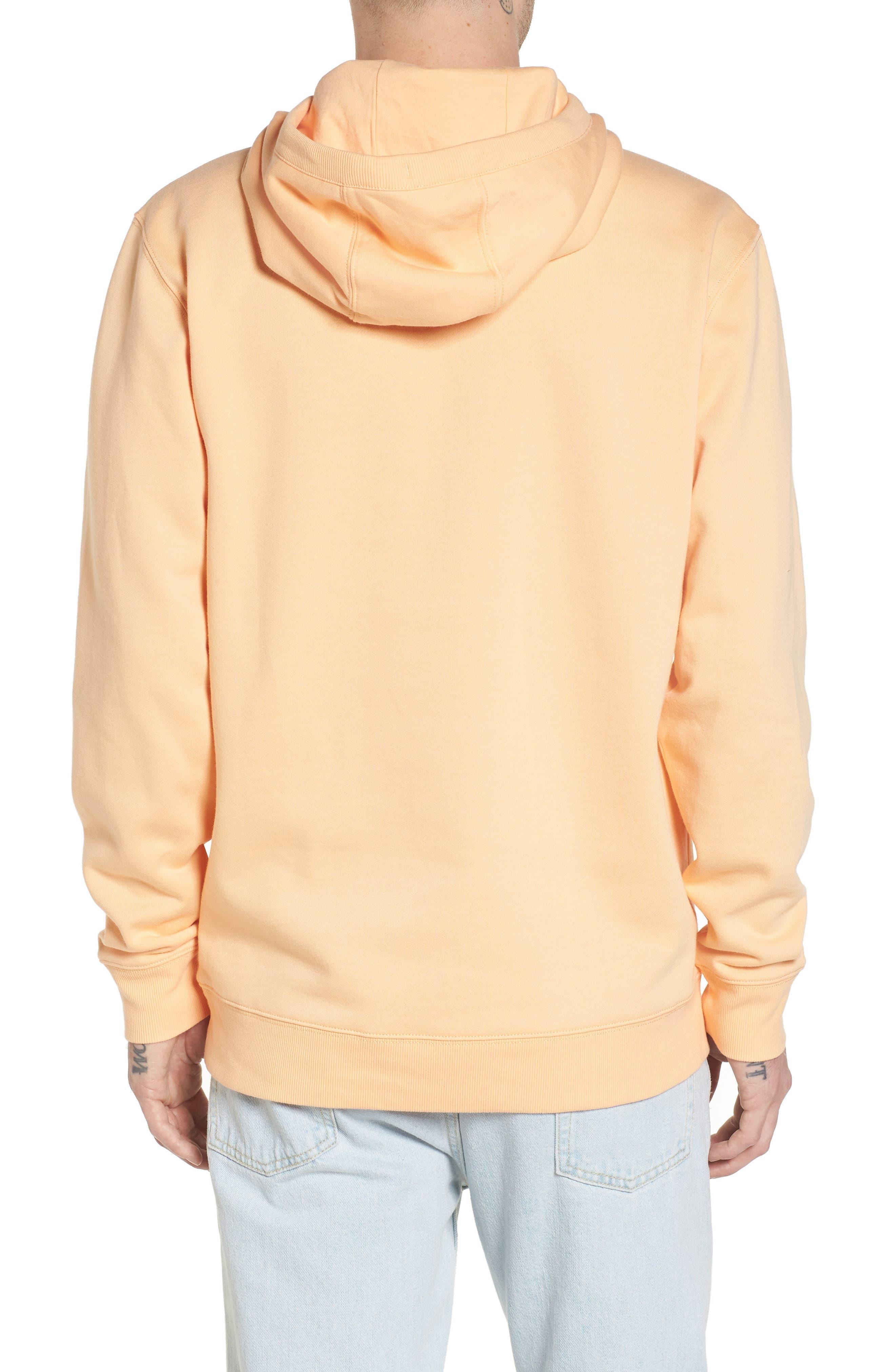 Classic Hoodie Sweatshirt,                             Alternate thumbnail 2, color,                             Apricot Ice