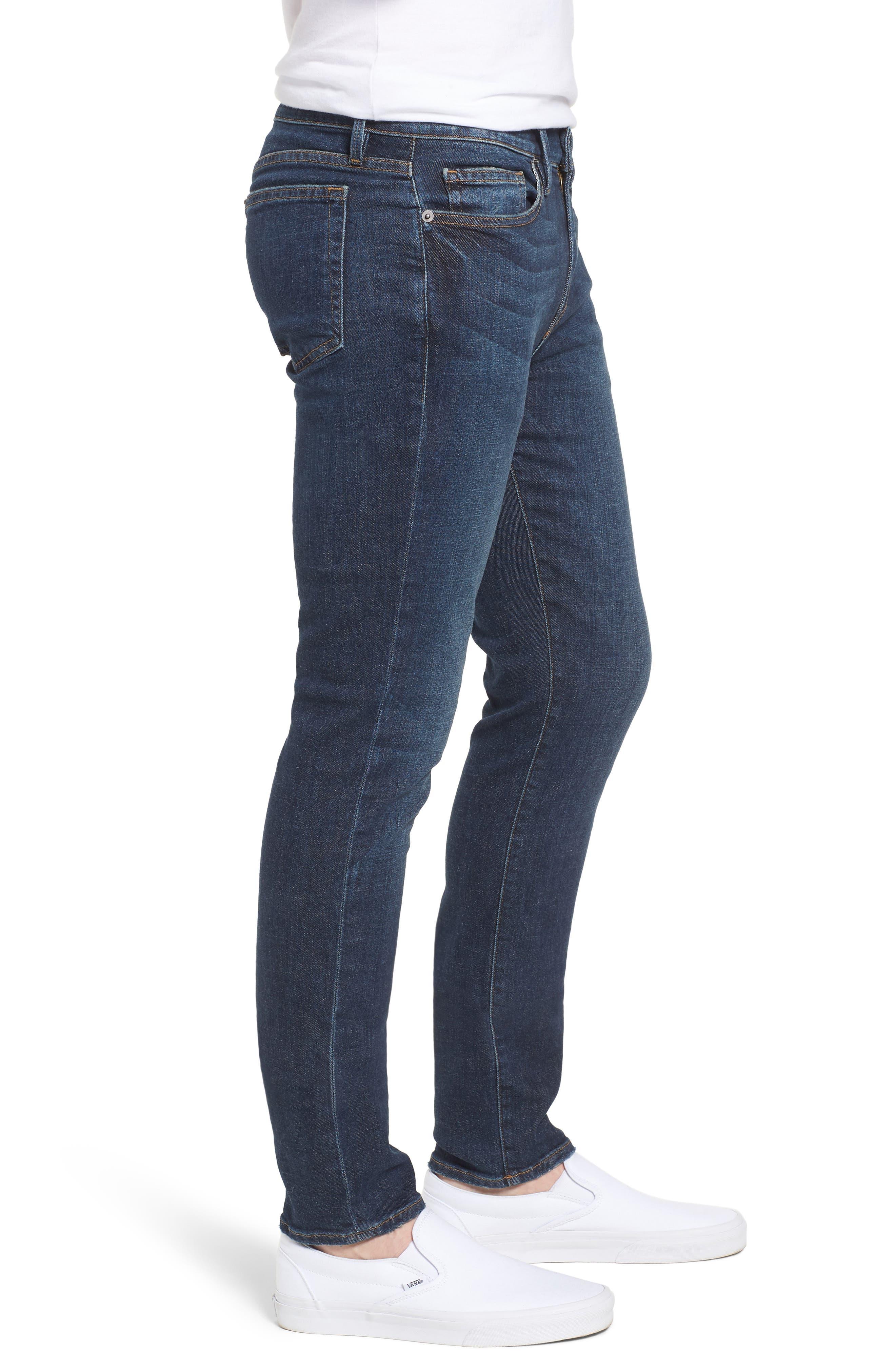 L'Homme Skinny Jeans,                             Alternate thumbnail 3, color,                             Loris