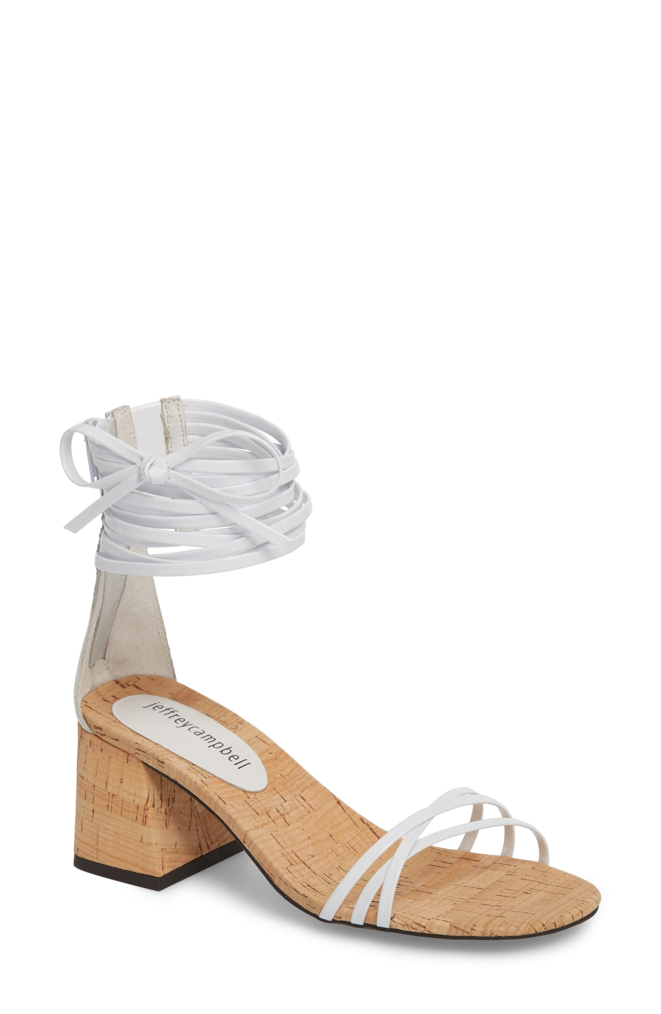 Jeffrey Campbell Women's Everglade Ankle Strap Sandal Sihf5OS