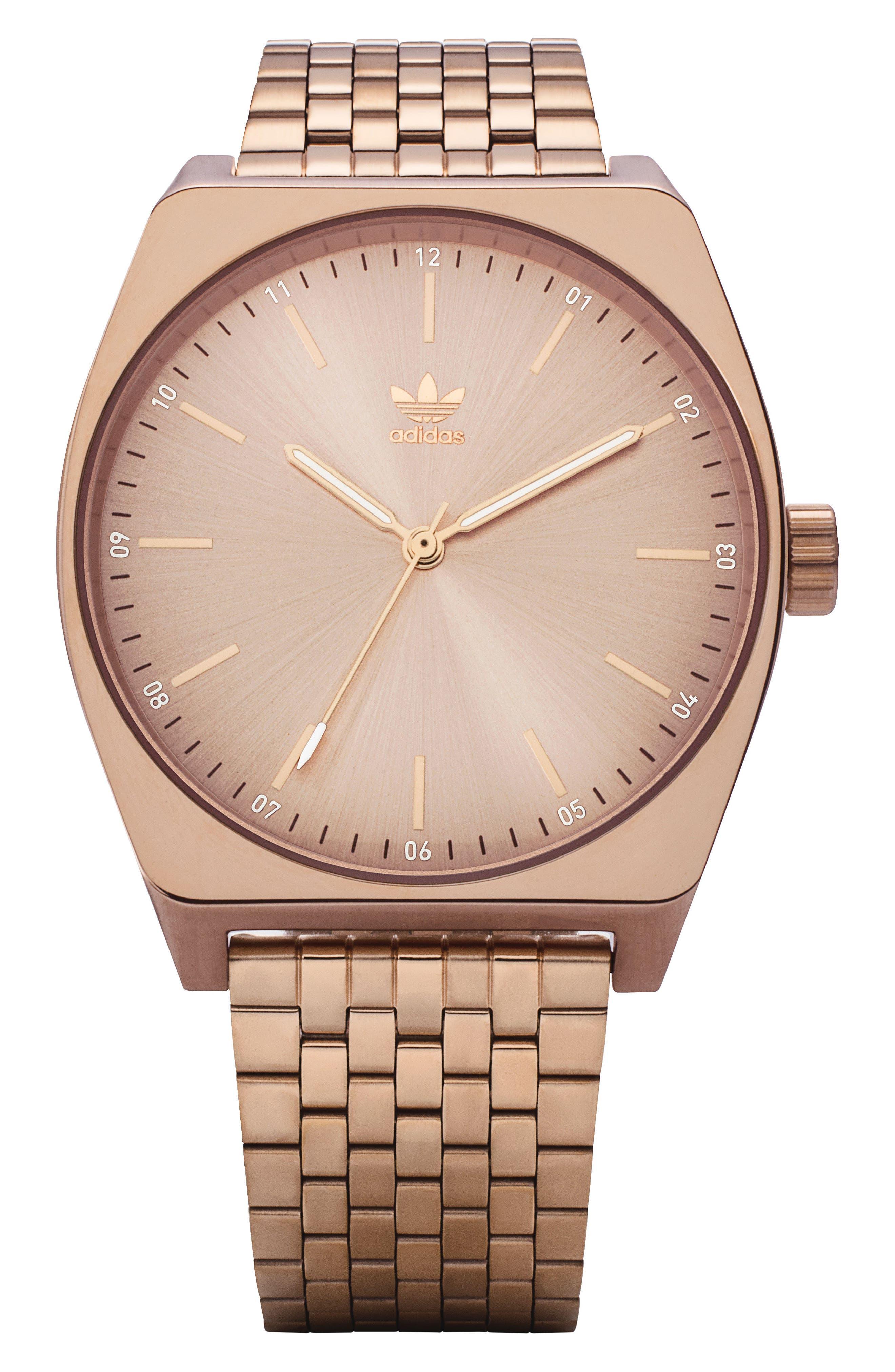 Process Bracelet Watch, 38mm,                             Main thumbnail 1, color,                             Rose Gold
