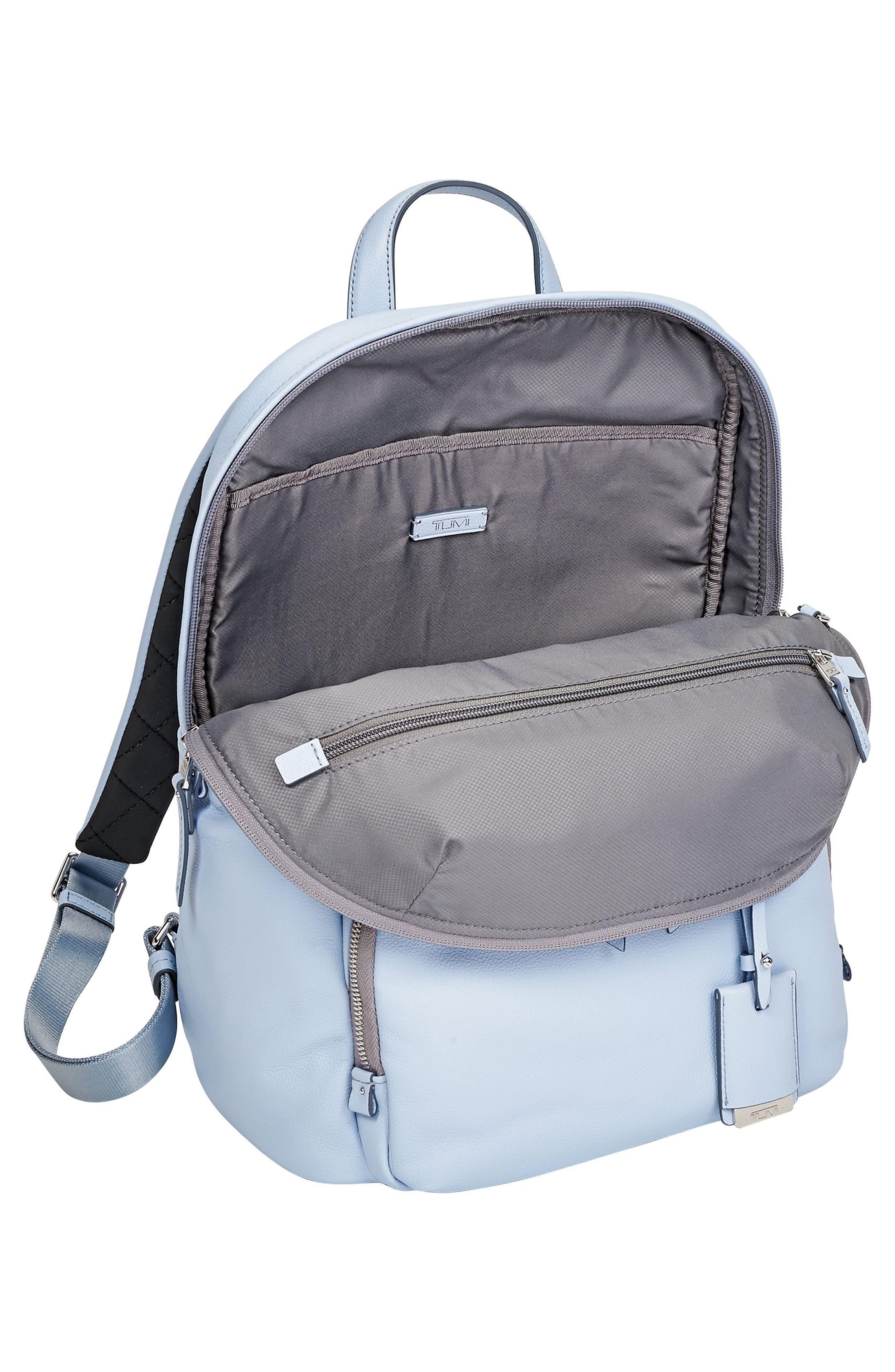 Alternate Image 3  - Tumi Voyageur Halle Leather Backpack (Limited Edition)