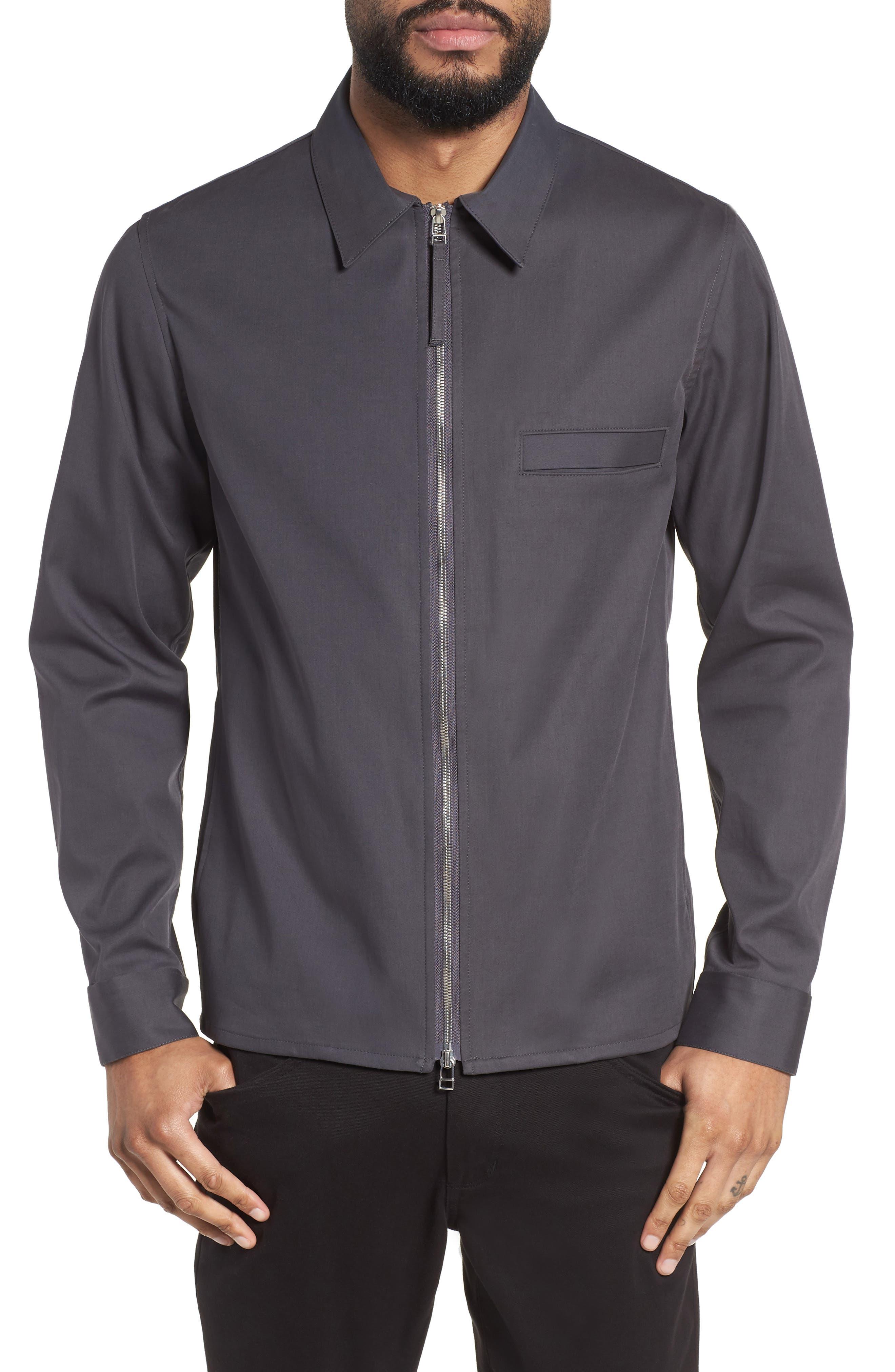Main Image - Theory Rye Holtham Shirt Jacket
