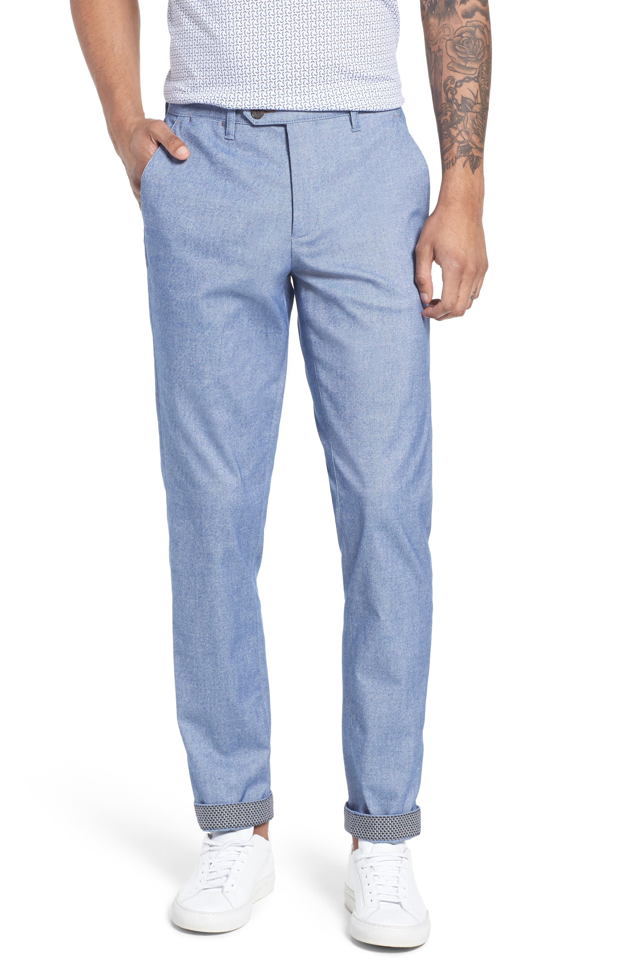 Main Image - Ted Baker London Volvek Classic Fit Trousers