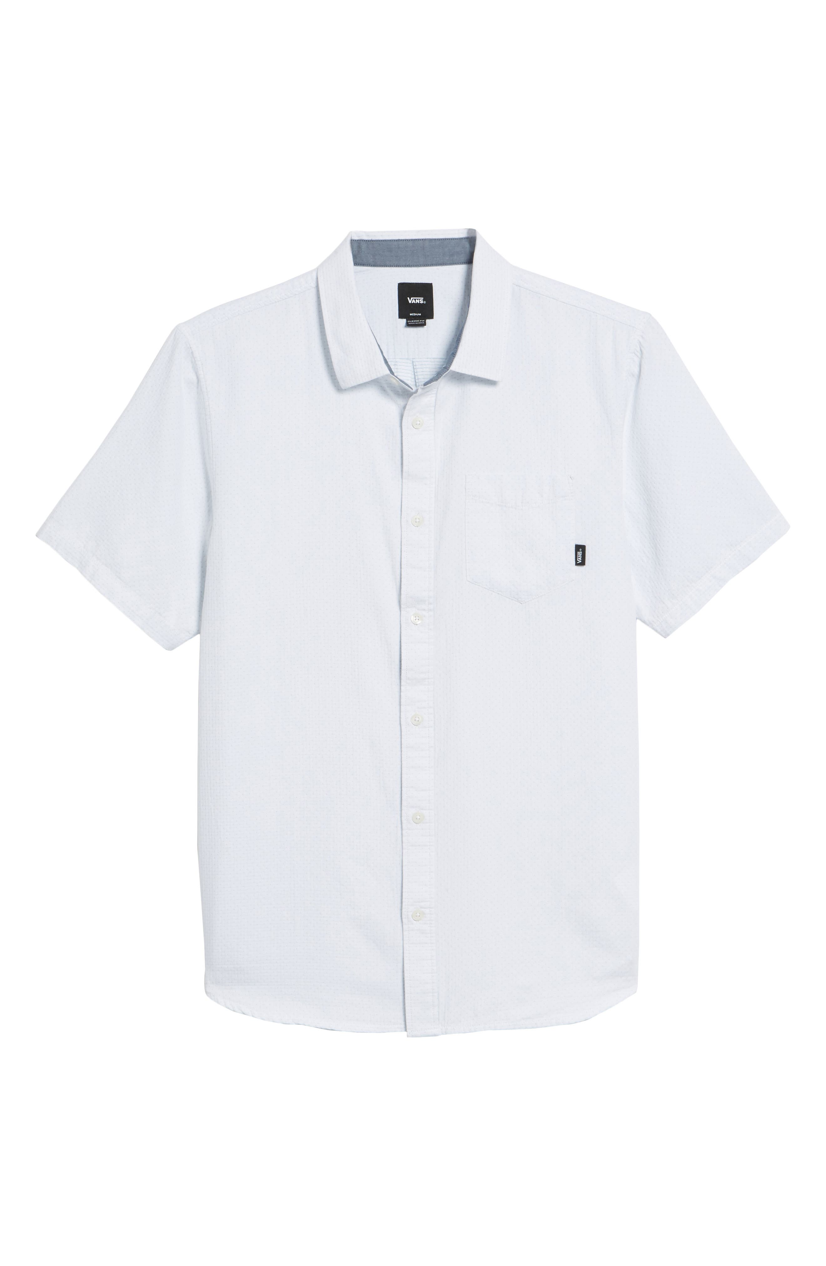 Fairdale Woven Shirt,                             Alternate thumbnail 6, color,                             White