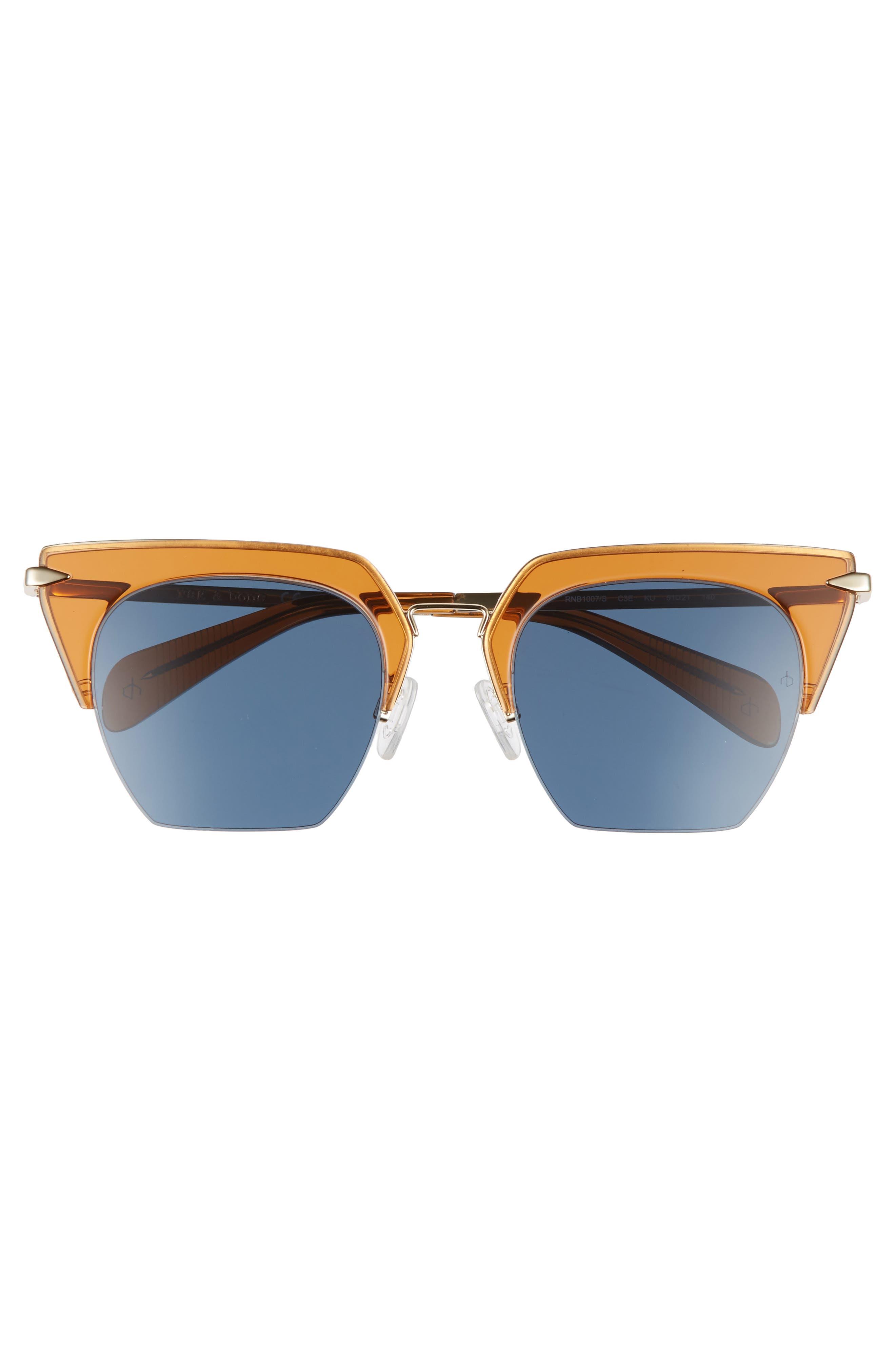 Alternate Image 3  - rag & bone 51mm Cat Eye Sunglasses