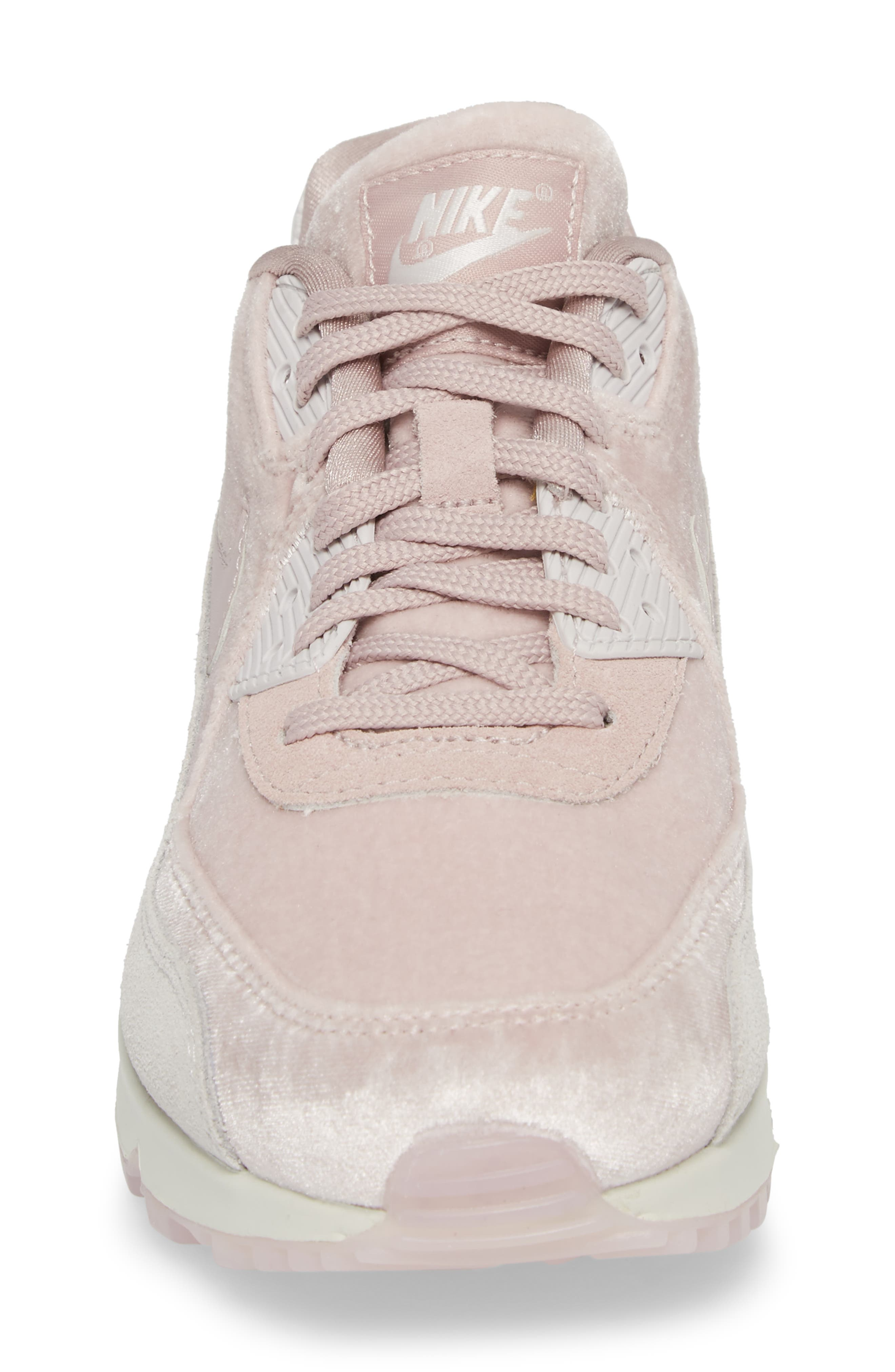 Air Max 90 LX Sneaker,                             Alternate thumbnail 5, color,                             Particle Rose/ Particle Rose