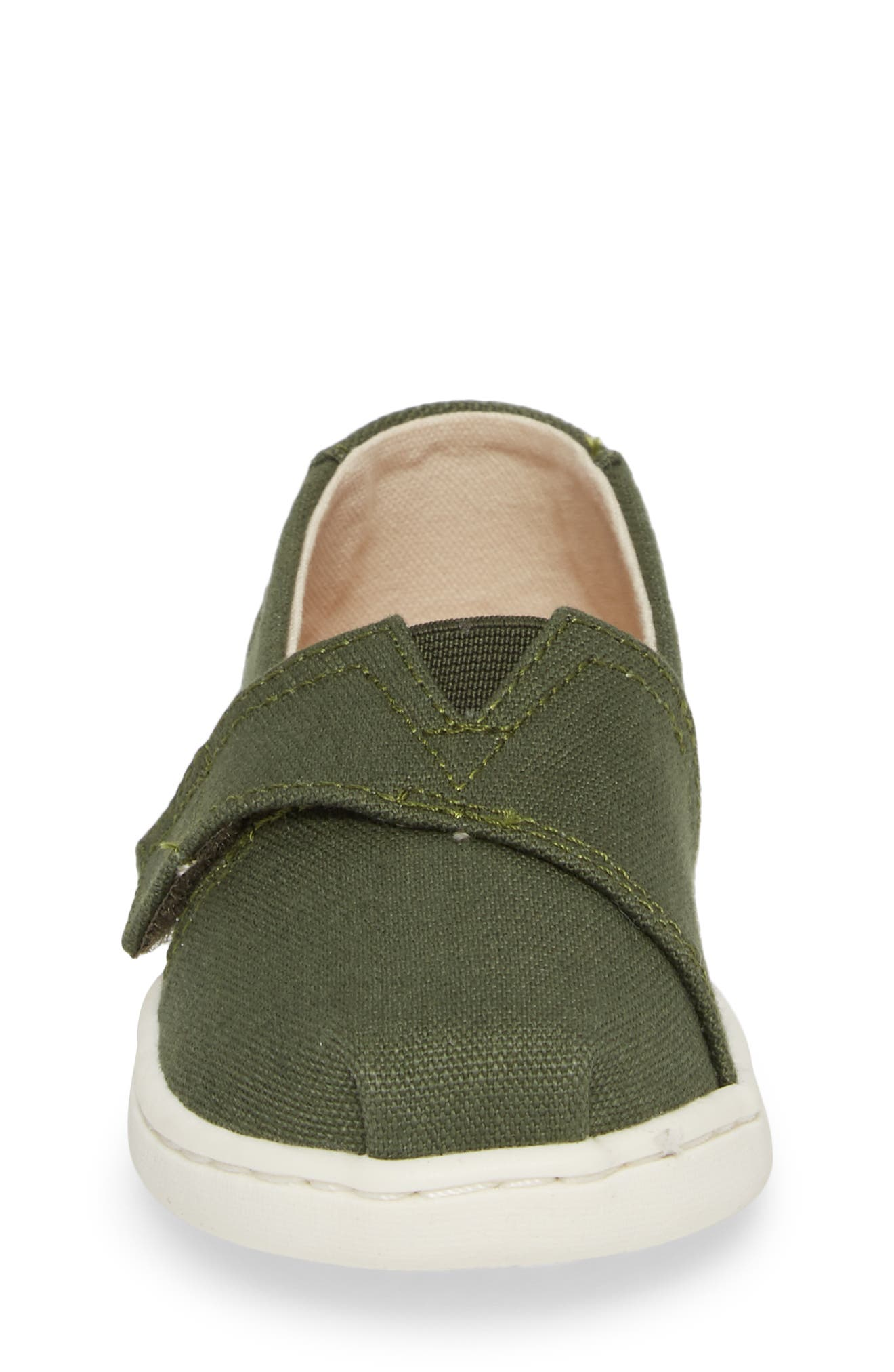 Chambray Slip-On,                             Alternate thumbnail 4, color,                             Pine Canvas