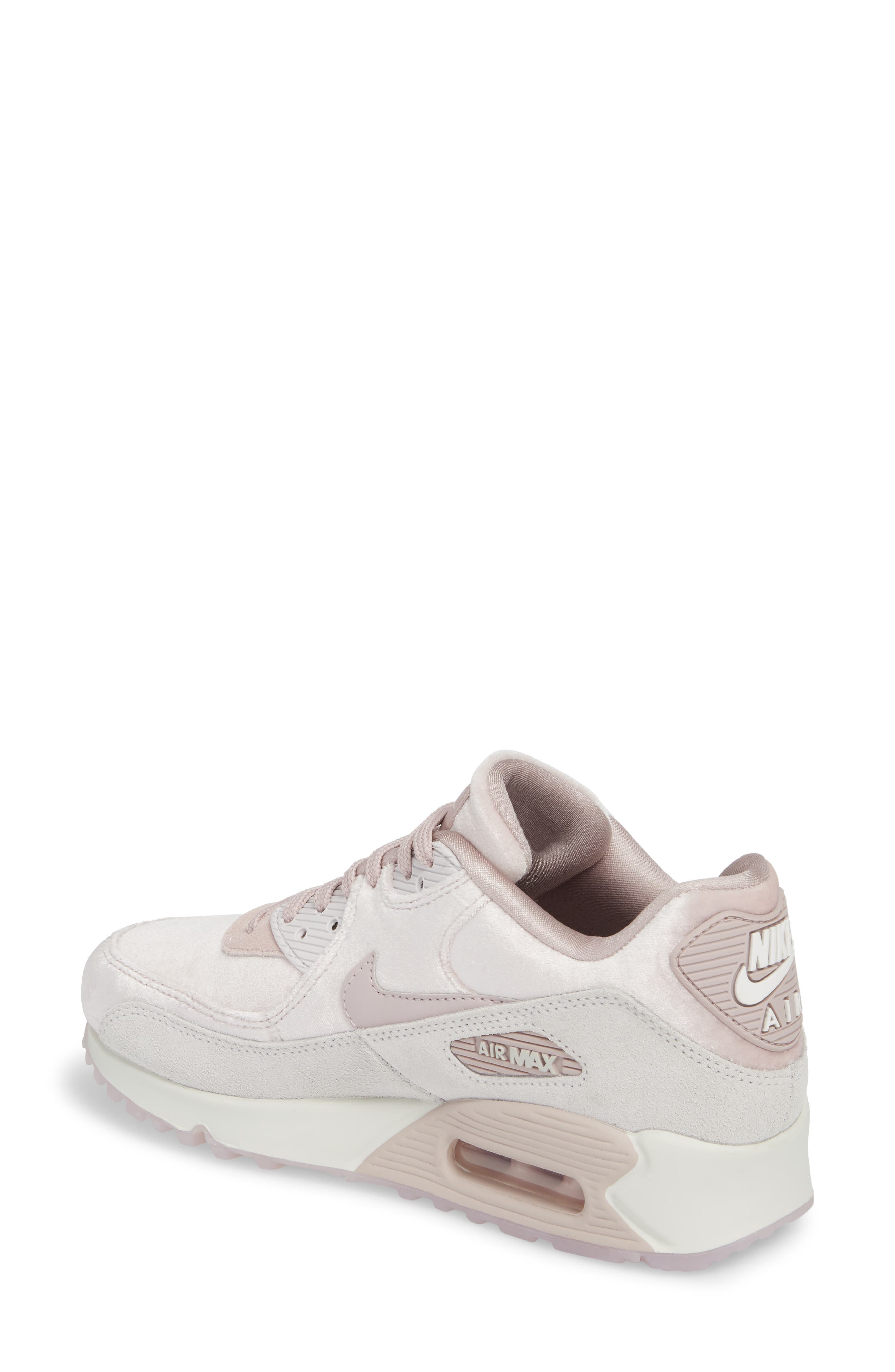 Air Max 90 LX Sneaker,                             Alternate thumbnail 2, color,                             Particle Rose/ Particle Rose