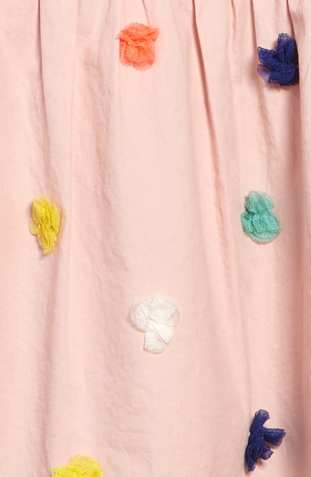 Alternate Image 3  - Mini Boden Fun Knit-to-Woven Dress (Toddler Girls, Little Girls & Big Girls)