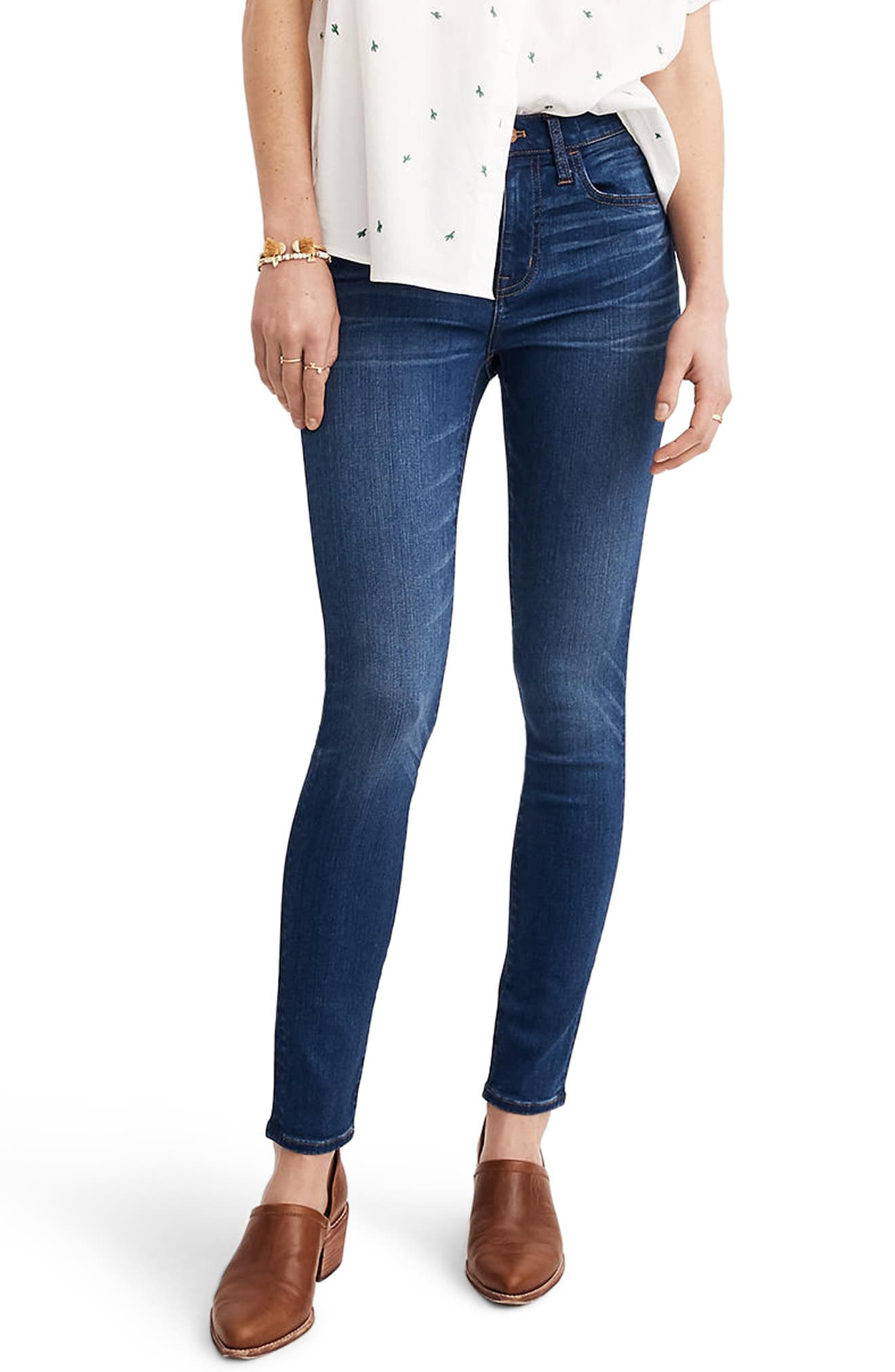 Roadtripper High Waist Skinny Jeans,                             Main thumbnail 1, color,                             Orson Wash