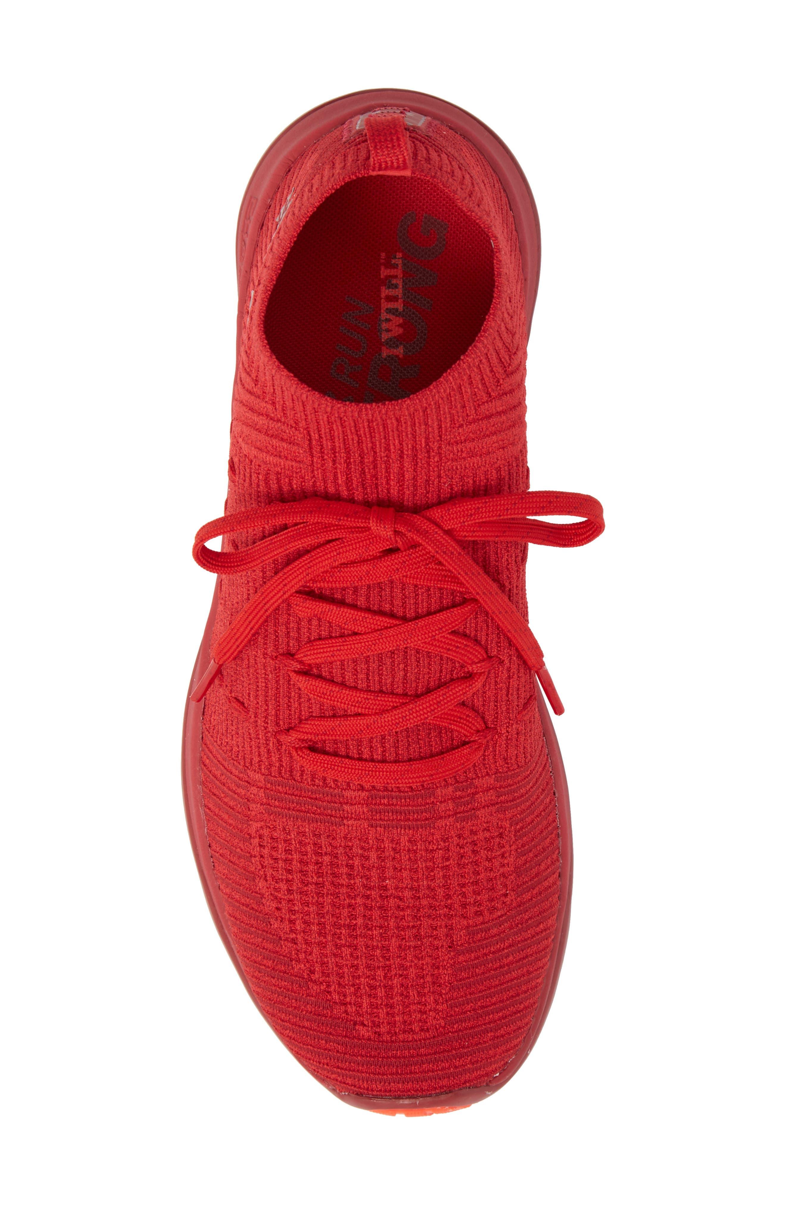 Slingflex Rise Sneaker,                             Alternate thumbnail 5, color,                             Pierce/ Spice Red