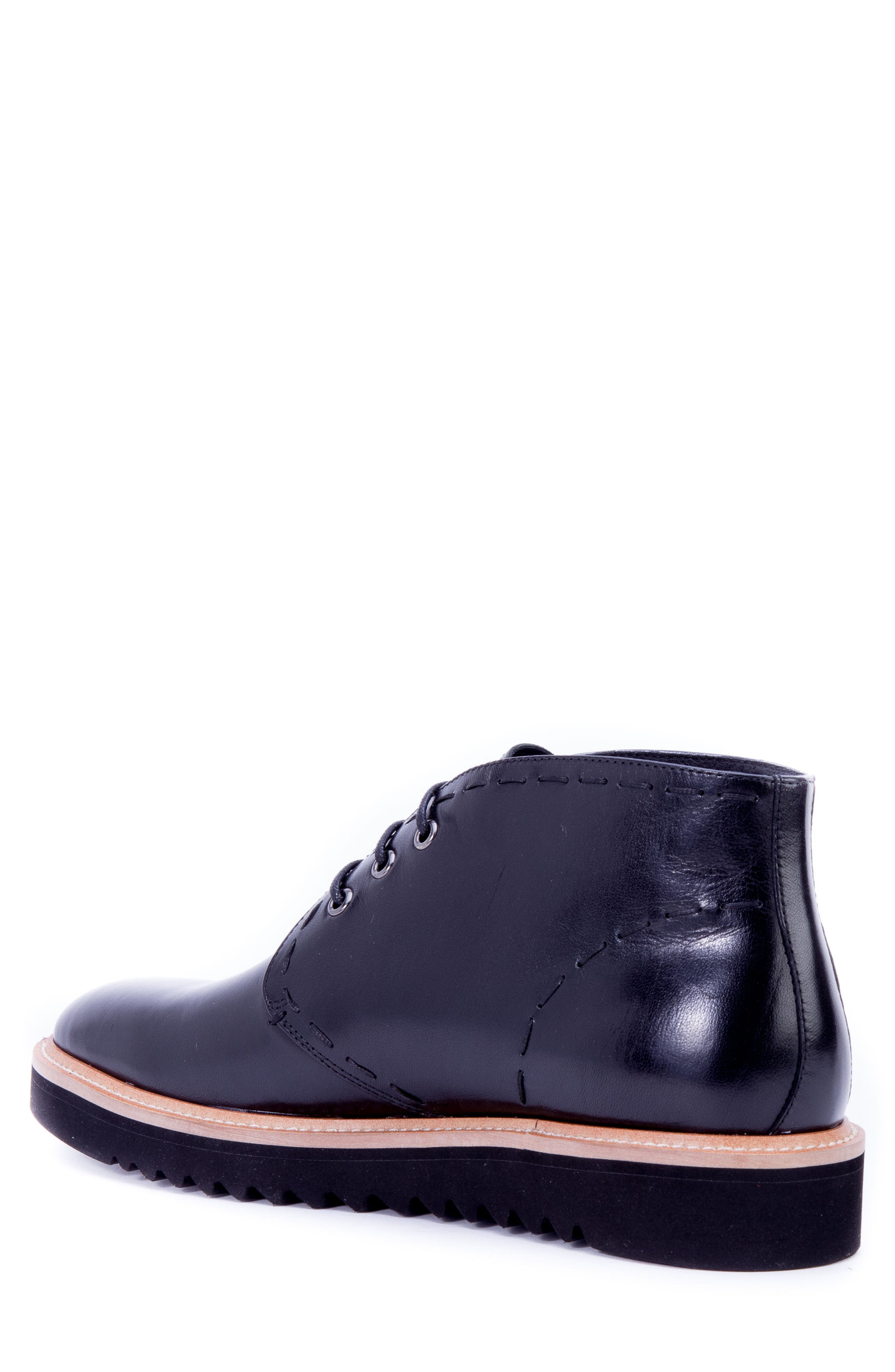Lombardo Chukka Boot,                             Alternate thumbnail 2, color,                             Black Leather