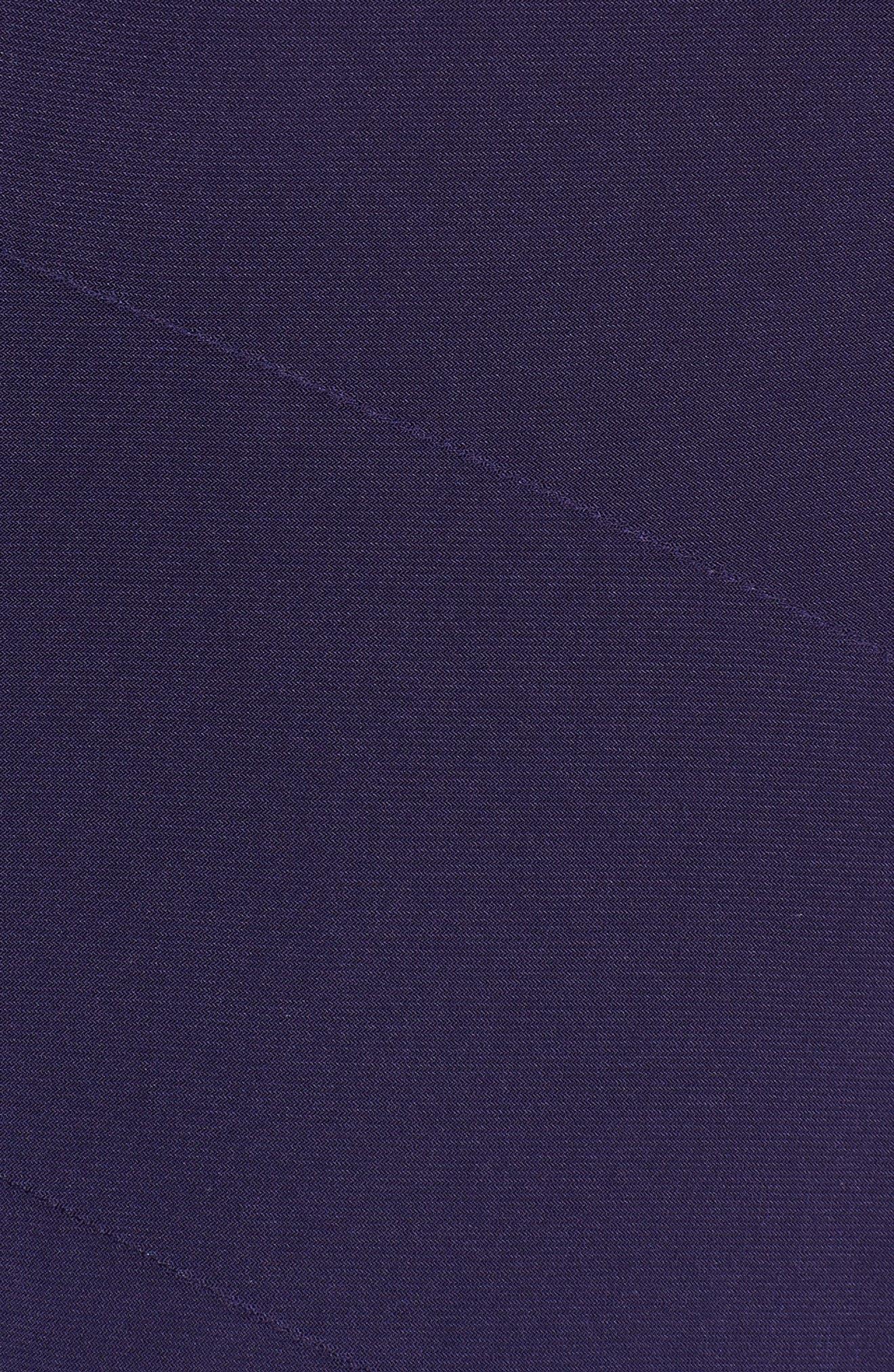 Asymmetrical Knit Dress,                             Alternate thumbnail 5, color,                             Monaco