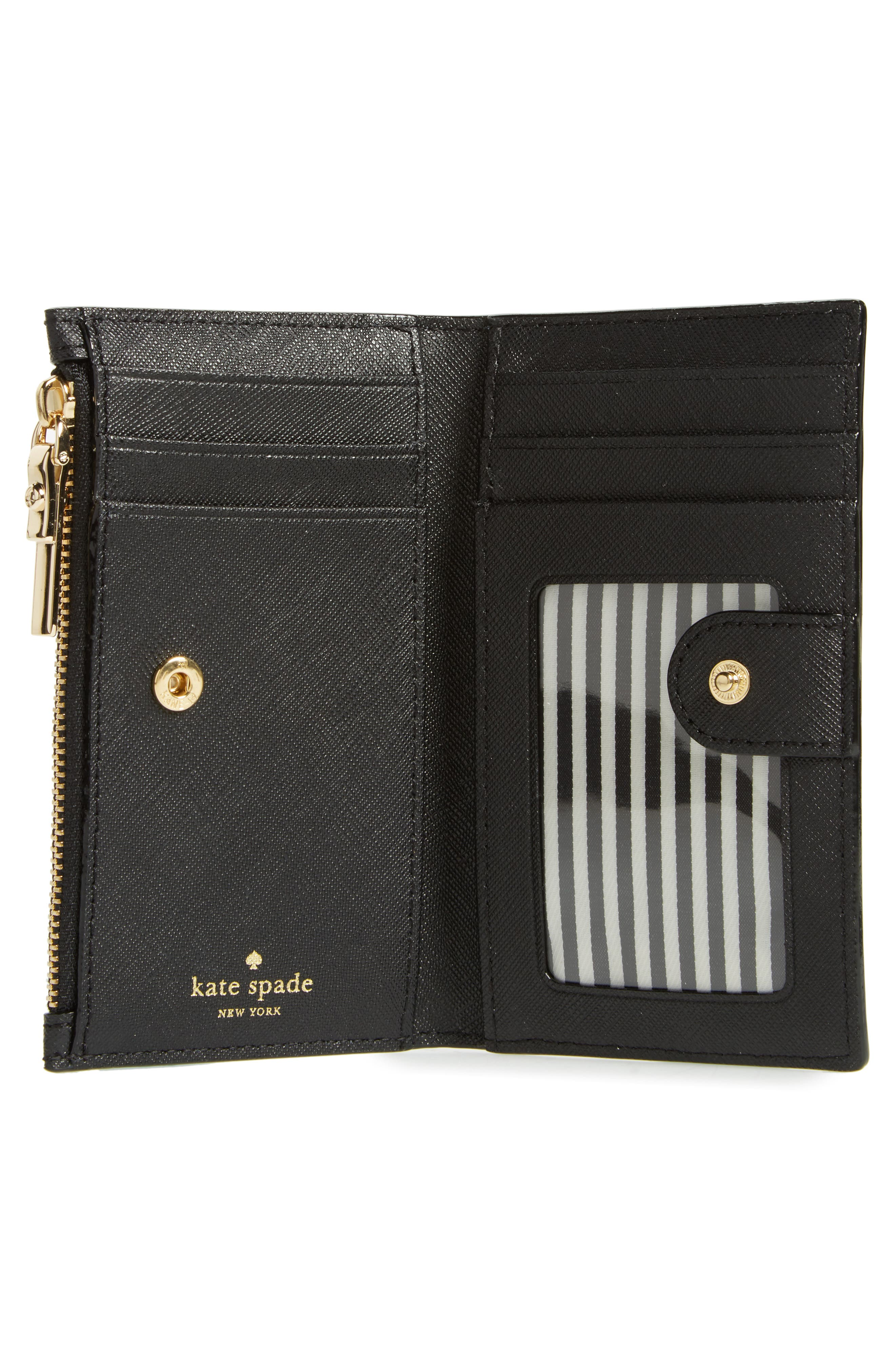 cameron street - mikey leather wallet,                             Alternate thumbnail 2, color,                             Black