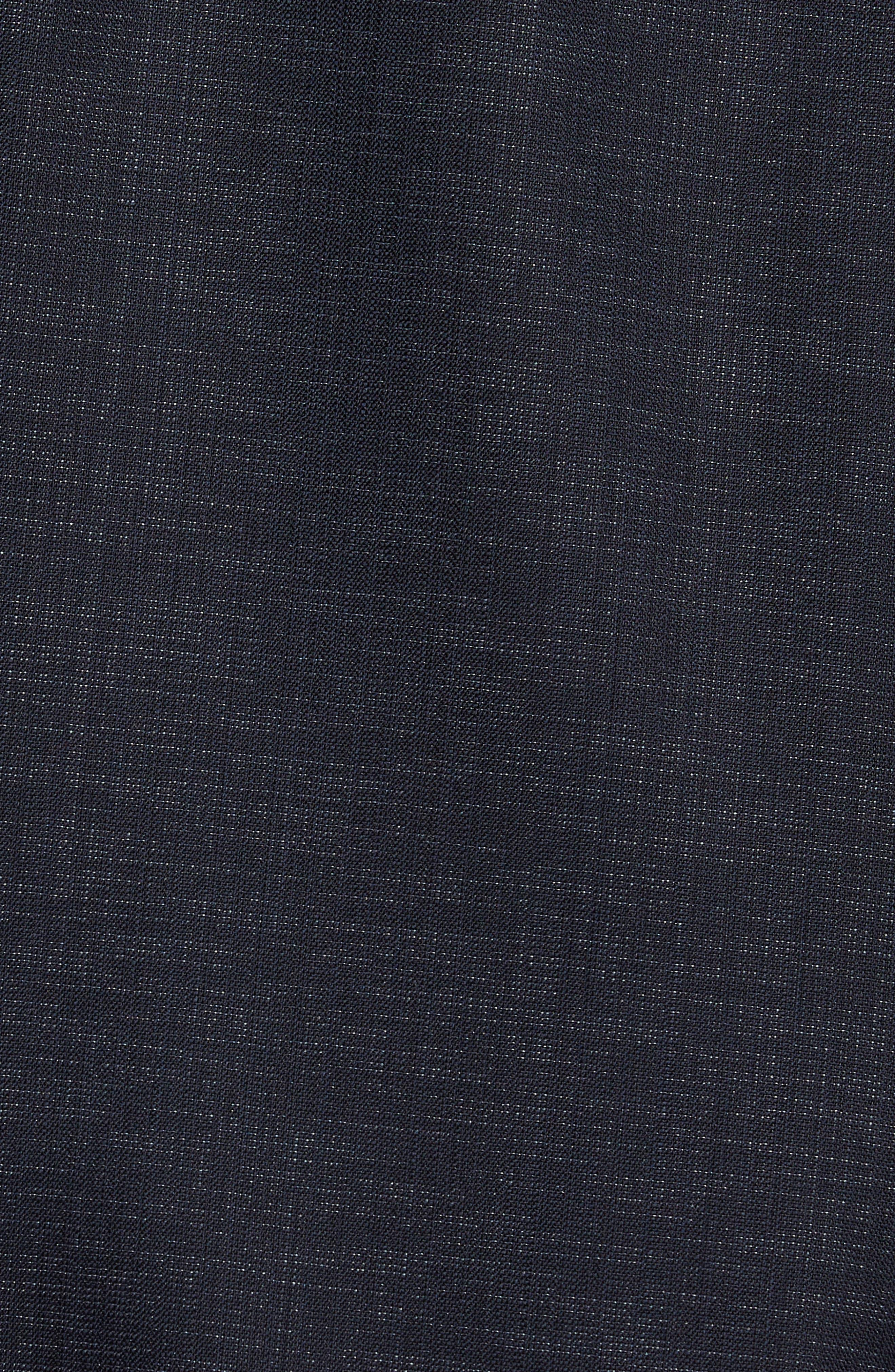 Novan/Ben Trim Fit Solid Wool Blend Suit,                             Alternate thumbnail 7, color,                             Navy