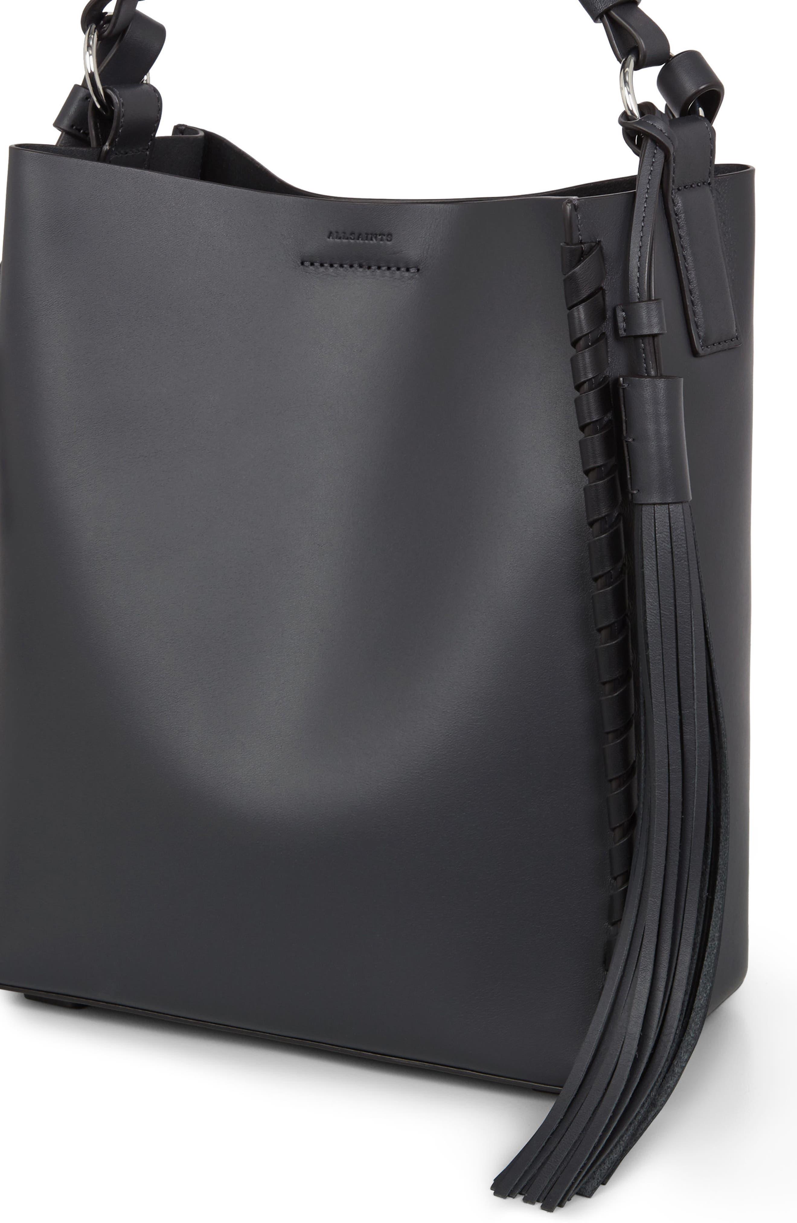 Alternate Image 6  - ALLSAINTS Kepi Leather Shoulder Bag