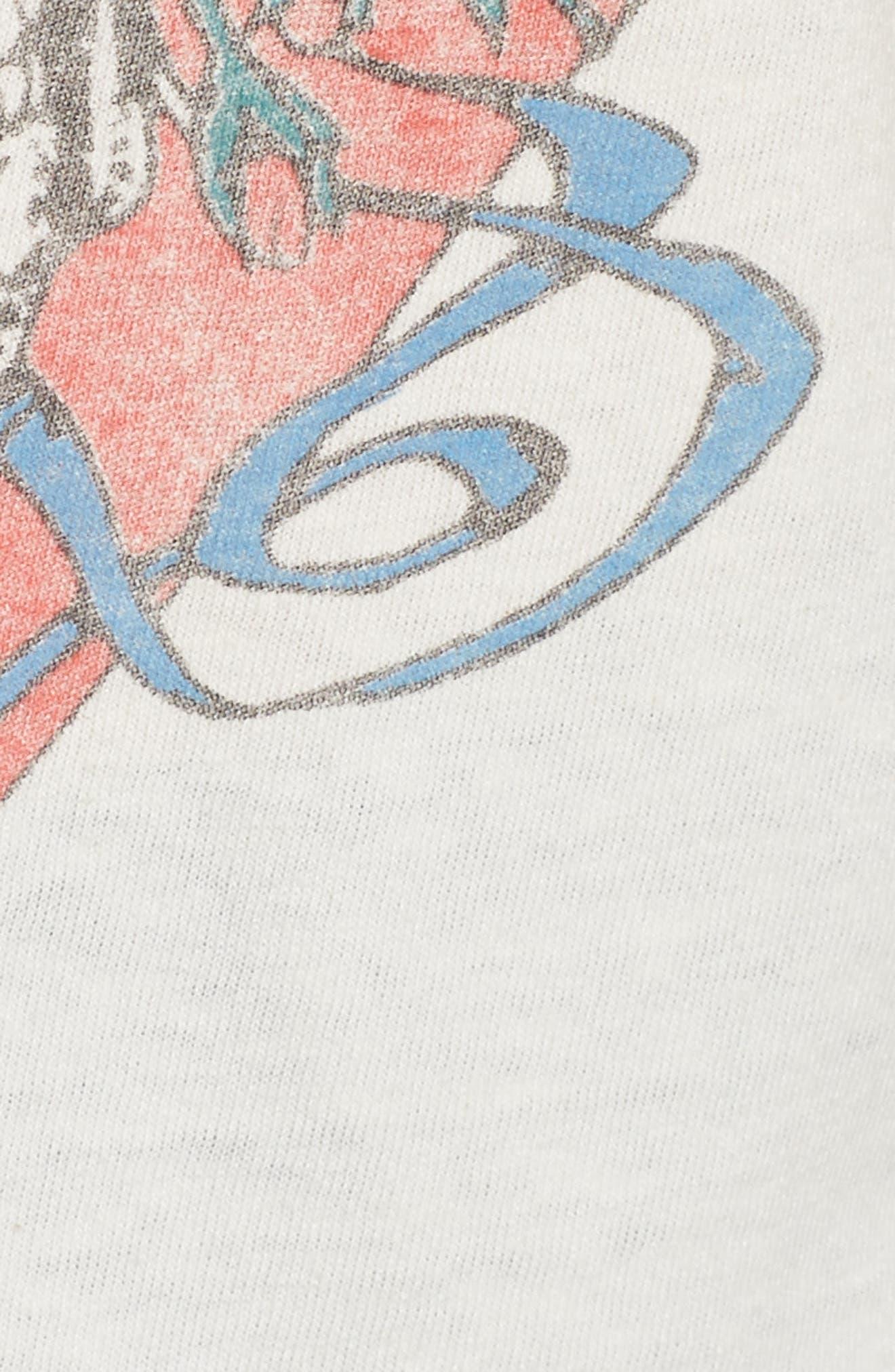 Grateful Dead Tee,                             Alternate thumbnail 5, color,                             Vintage White