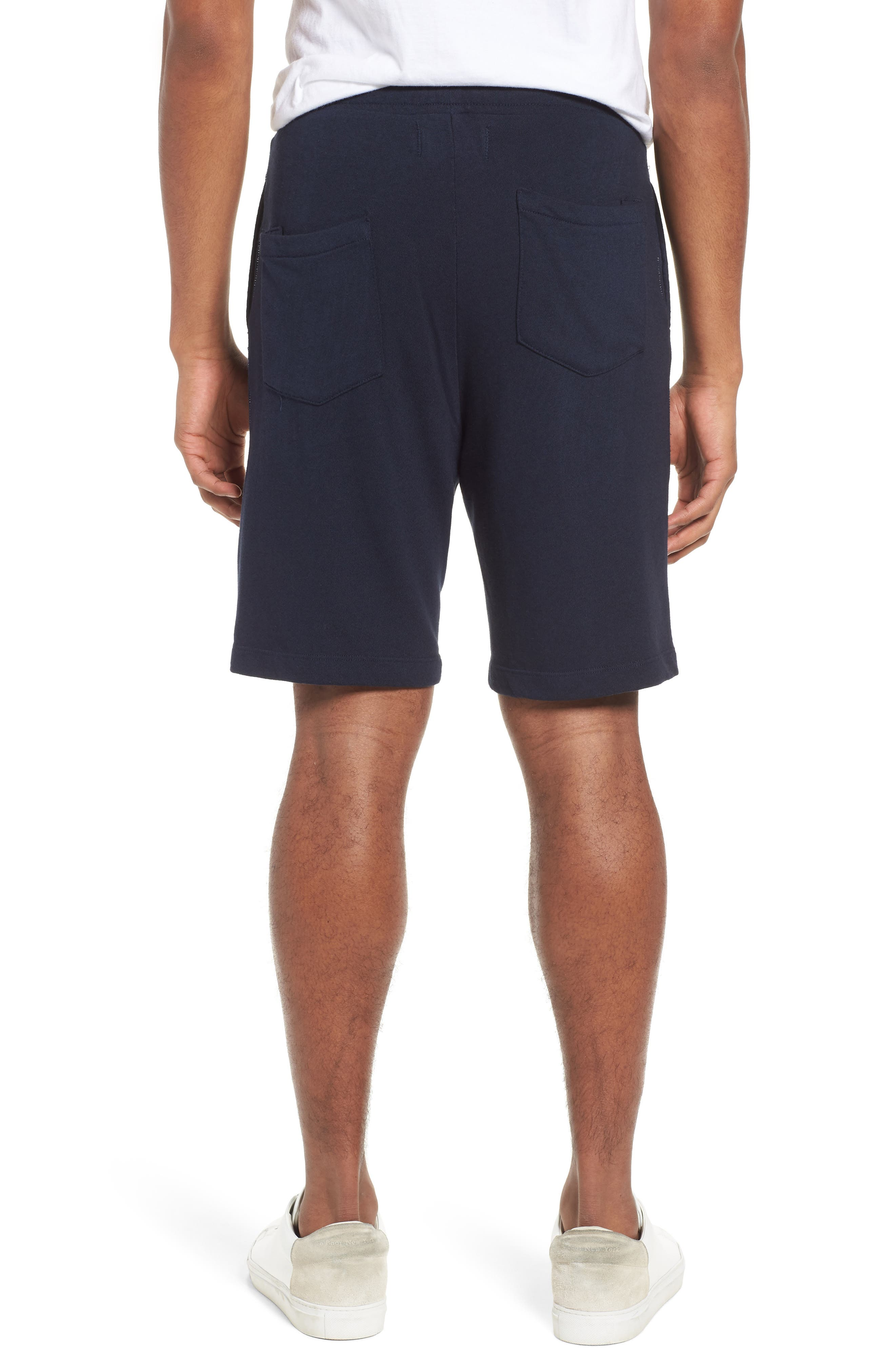 Lounge Sweat Shorts,                             Alternate thumbnail 2, color,                             Navy