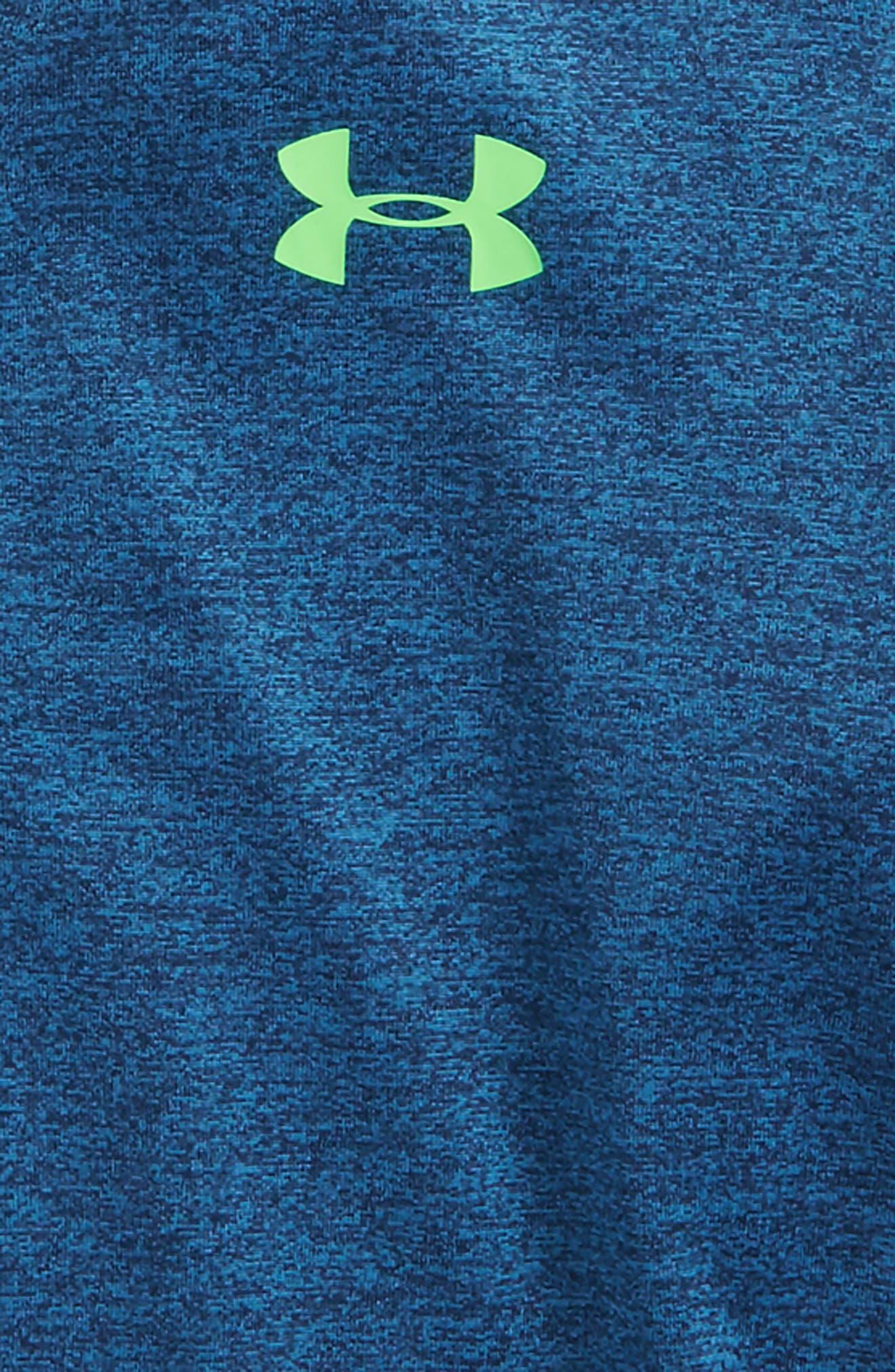 Twist Quarter Zip Hoodie,                             Alternate thumbnail 2, color,                             Moroccan Blue Twist