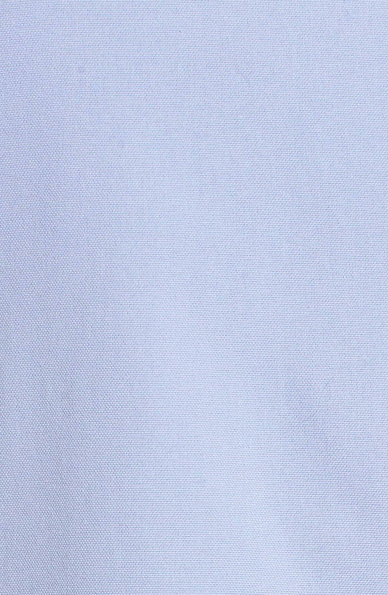 Farah Catalina Stretch Canvas Dress,                             Alternate thumbnail 5, color,                             Periwinkle
