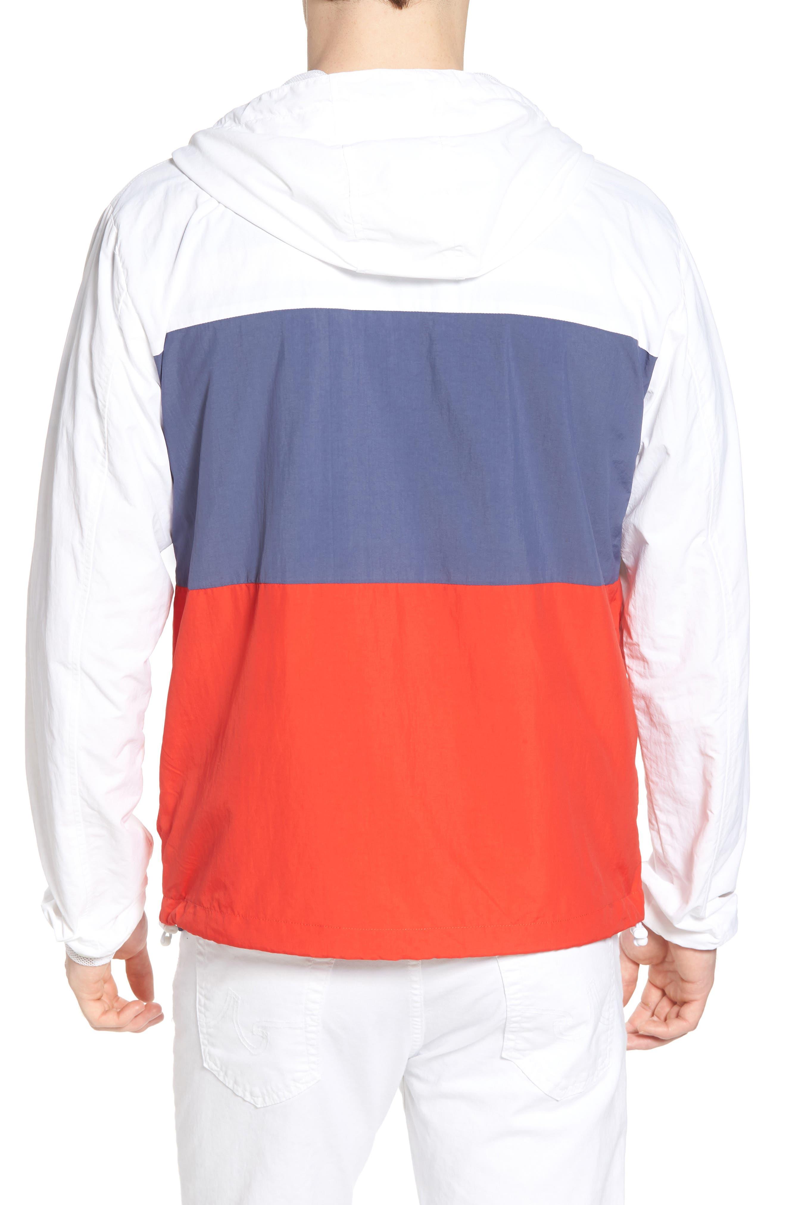 Alosa Colorblock Jacket,                             Alternate thumbnail 2, color,                             White