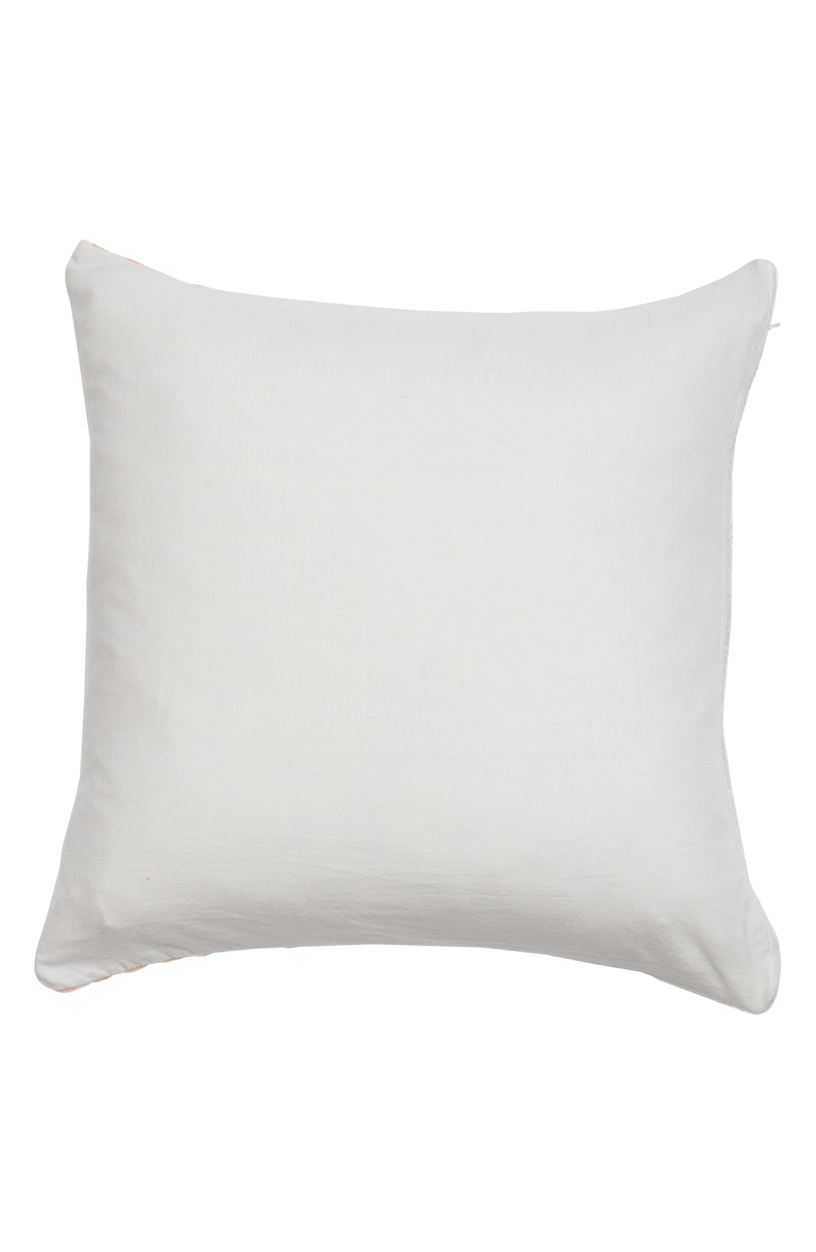 Hammam Stripe Accent Pillow,                             Alternate thumbnail 2, color,                             Grey Vapor