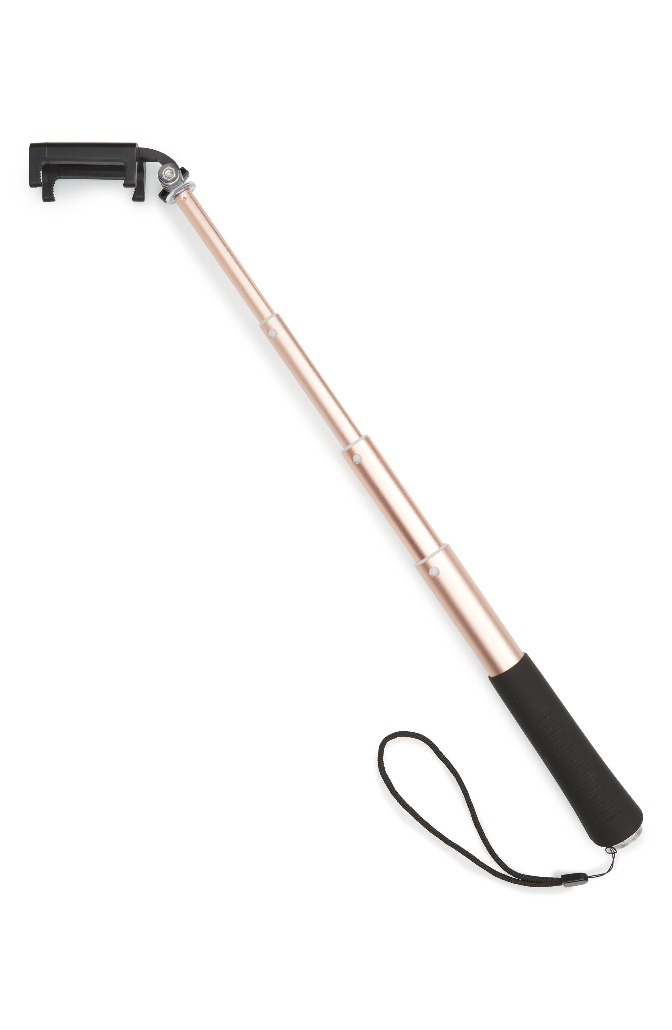 Selfie & Photo Stick,                             Alternate thumbnail 3, color,                             Rose Gold