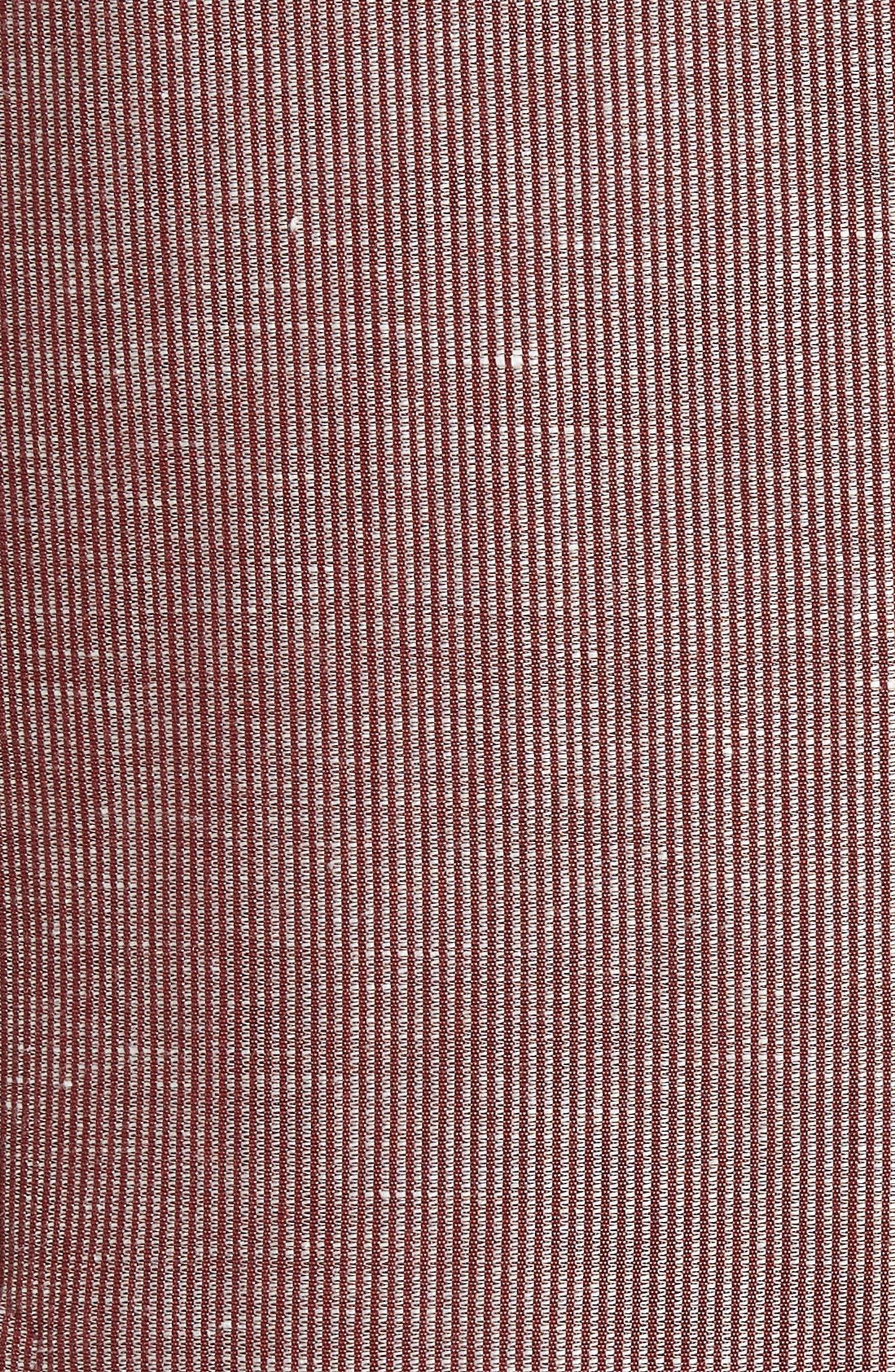 Janson Classic Fit Stripe Wool Blend Sport Coat,                             Alternate thumbnail 5, color,                             Red
