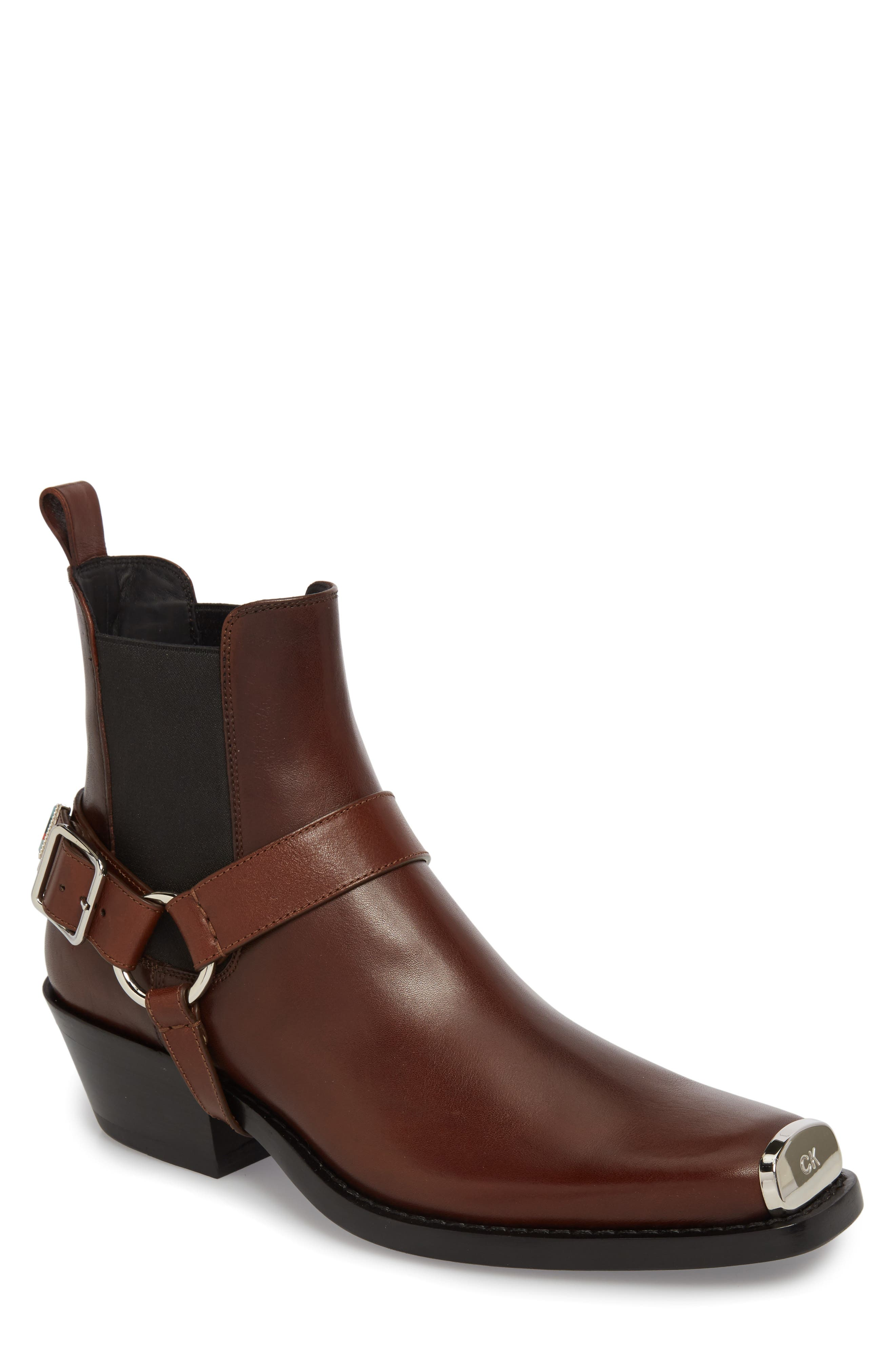 Alternate Image 1 Selected - CALVIN KLEIN 205W39NYC Harness Chelsea Boot (Men)
