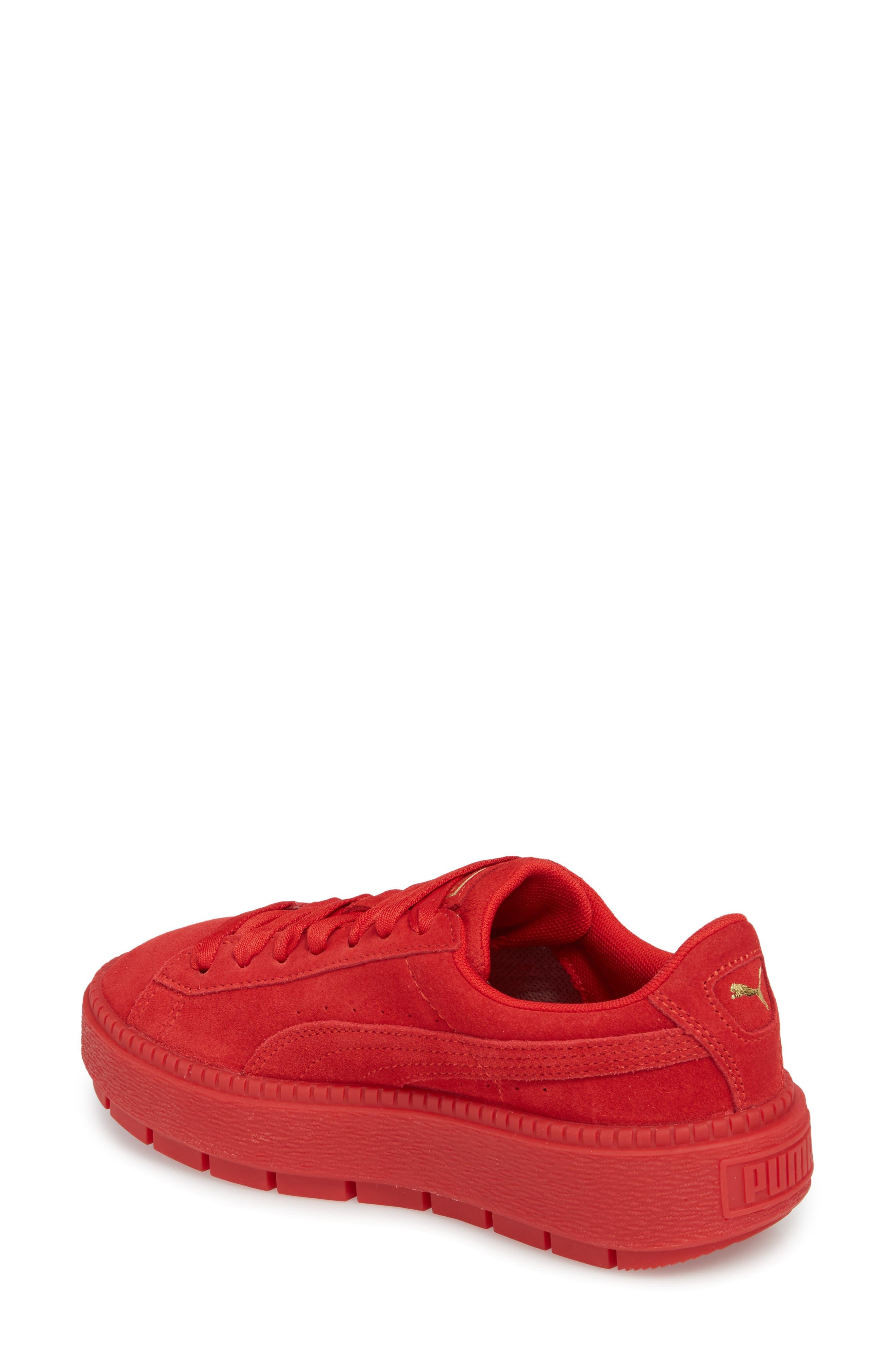 Alternate Image 2  - PUMA Platform Trace Sneaker (Women)