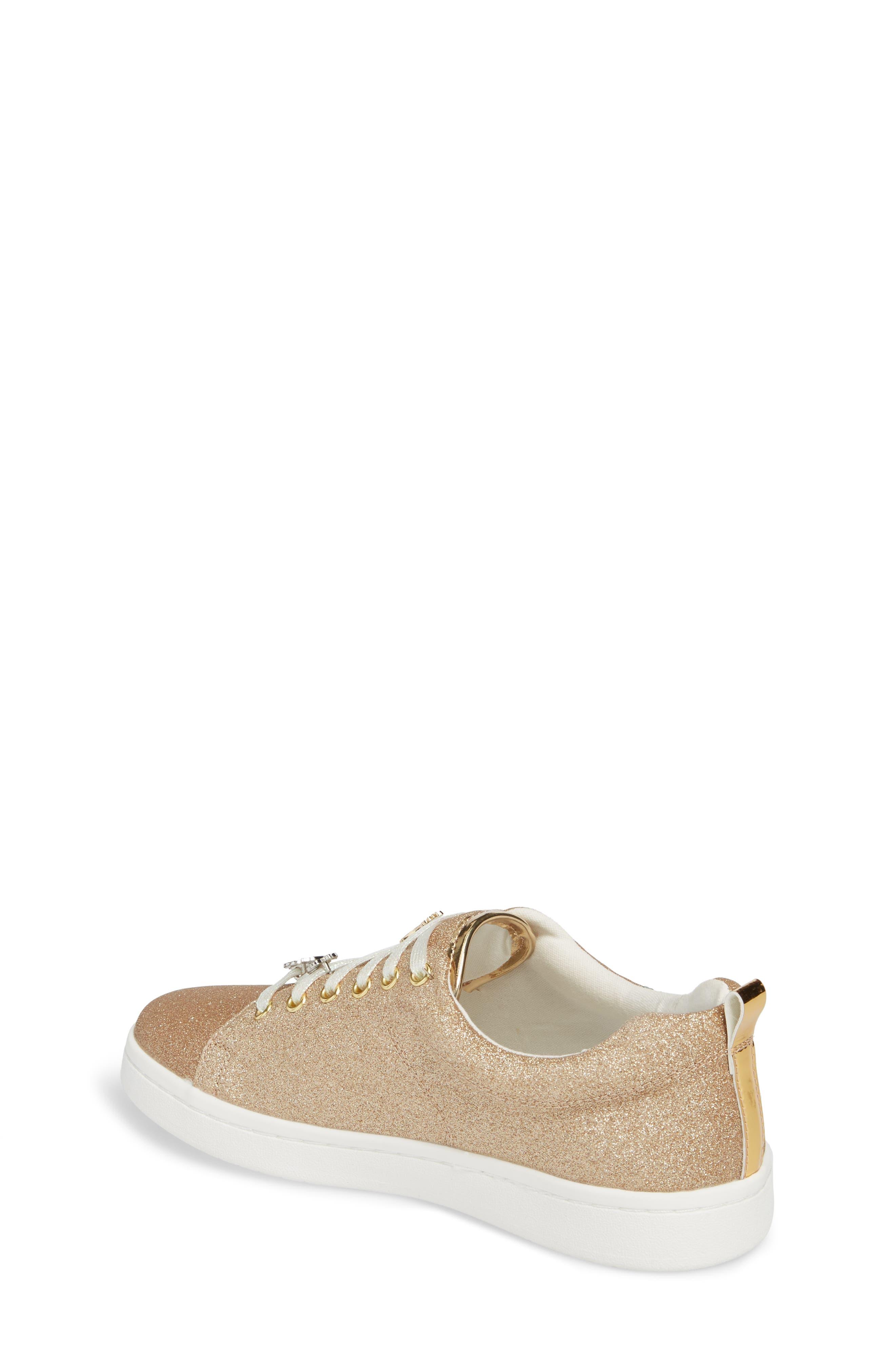 Blane Myth Glitter Sneaker,                             Alternate thumbnail 2, color,                             Golden Pineapple Faux Leather