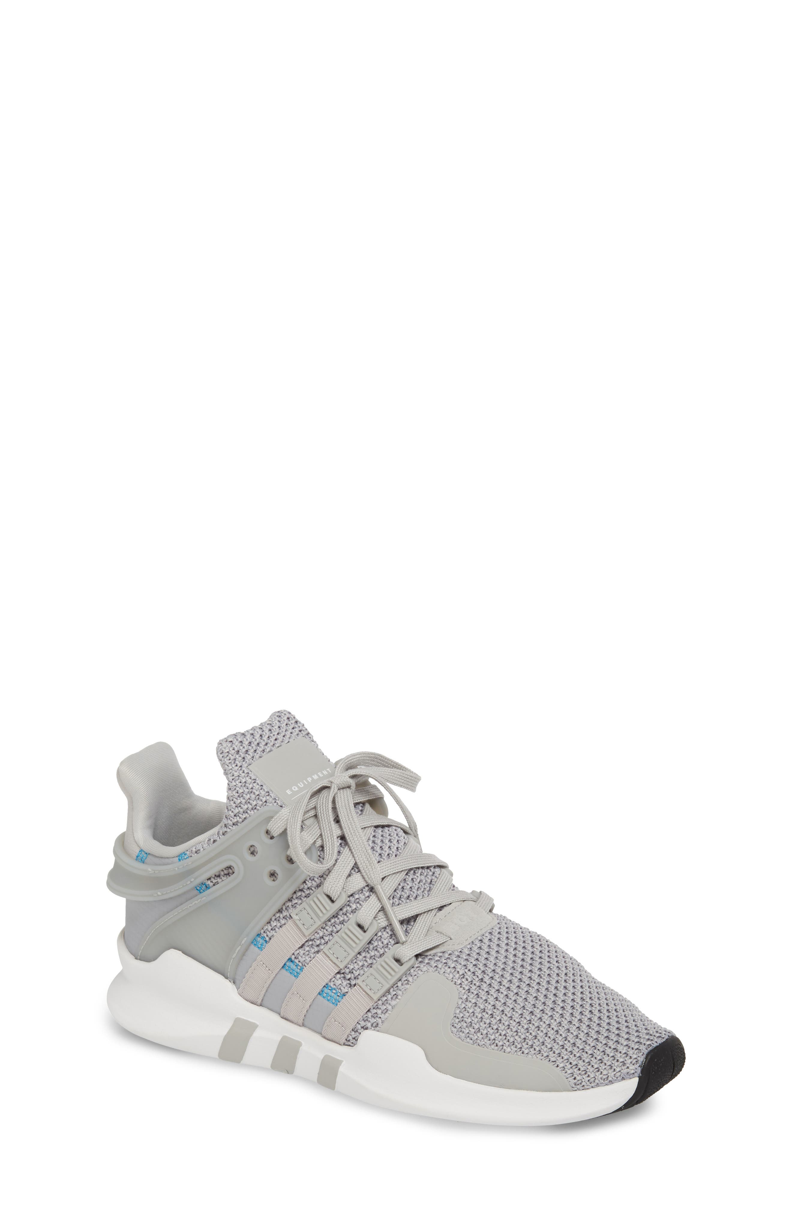 EQT Support Adv Sneaker,                             Main thumbnail 1, color,                             Grey / Grey / White
