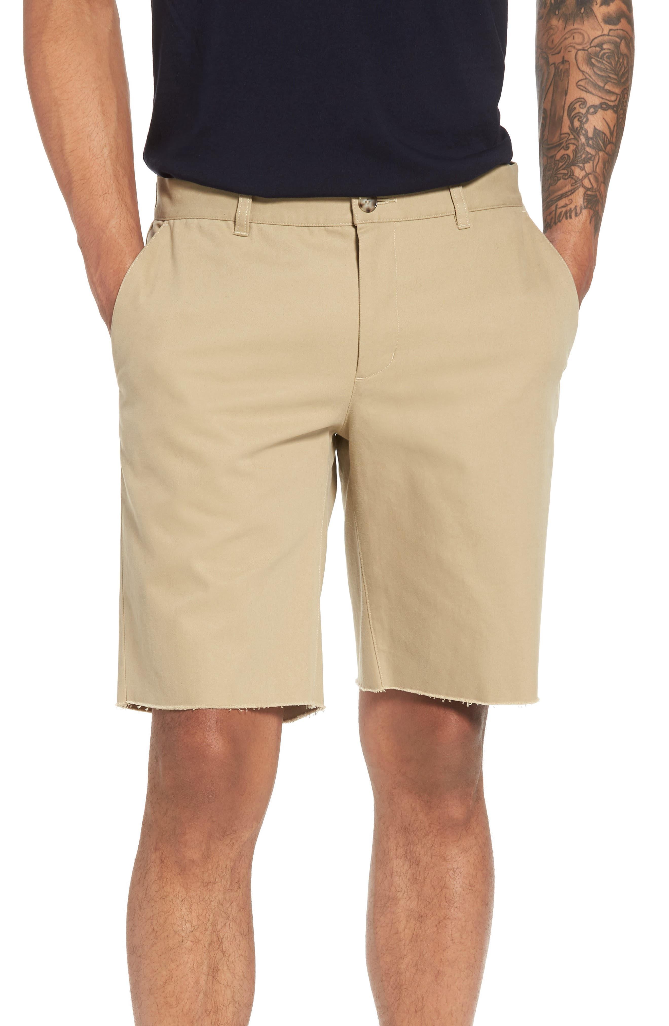 Vince Slim Fit Chino Shorts