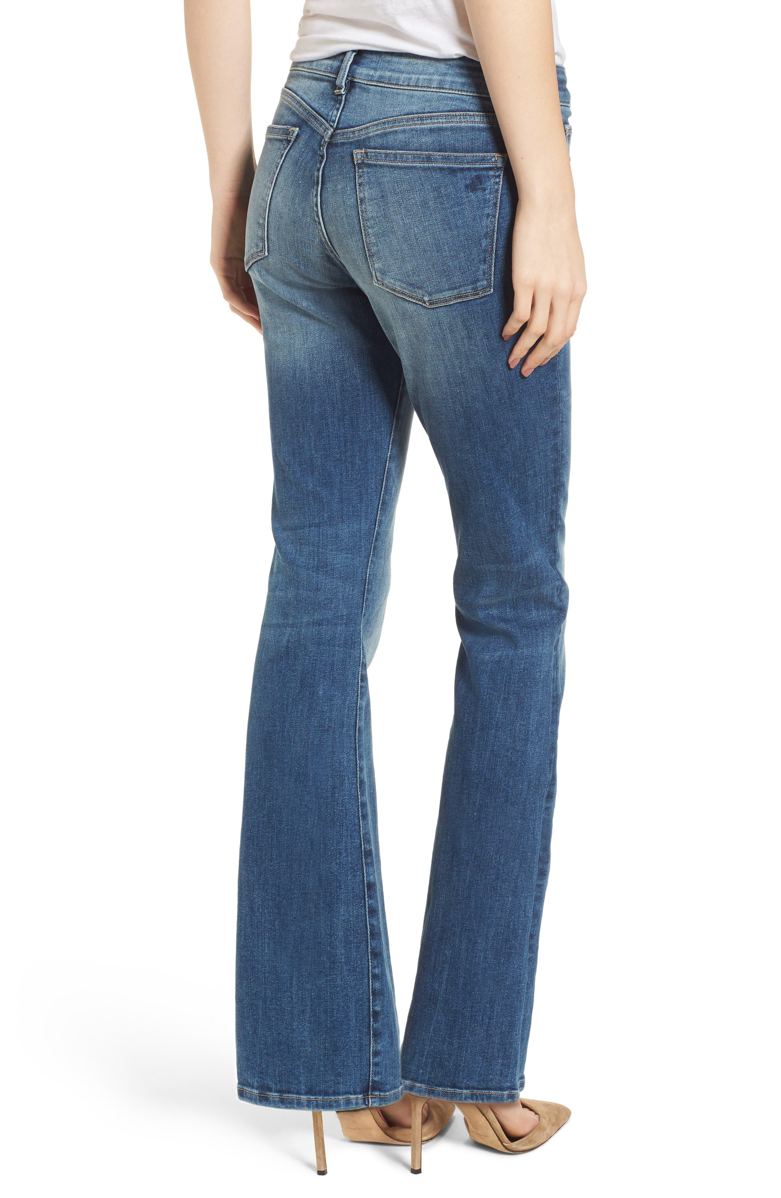 Bridget Instasculpt Bootcut Jeans,                             Alternate thumbnail 2, color,                             Wells