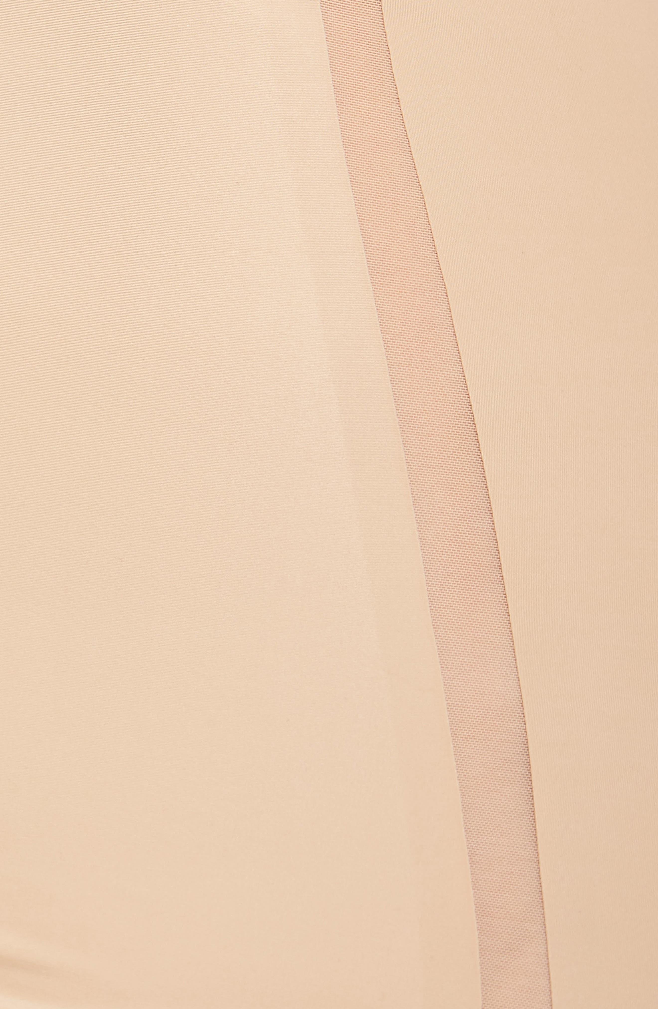 Sculpted Shapewear Slip,                             Alternate thumbnail 7, color,                             Bare