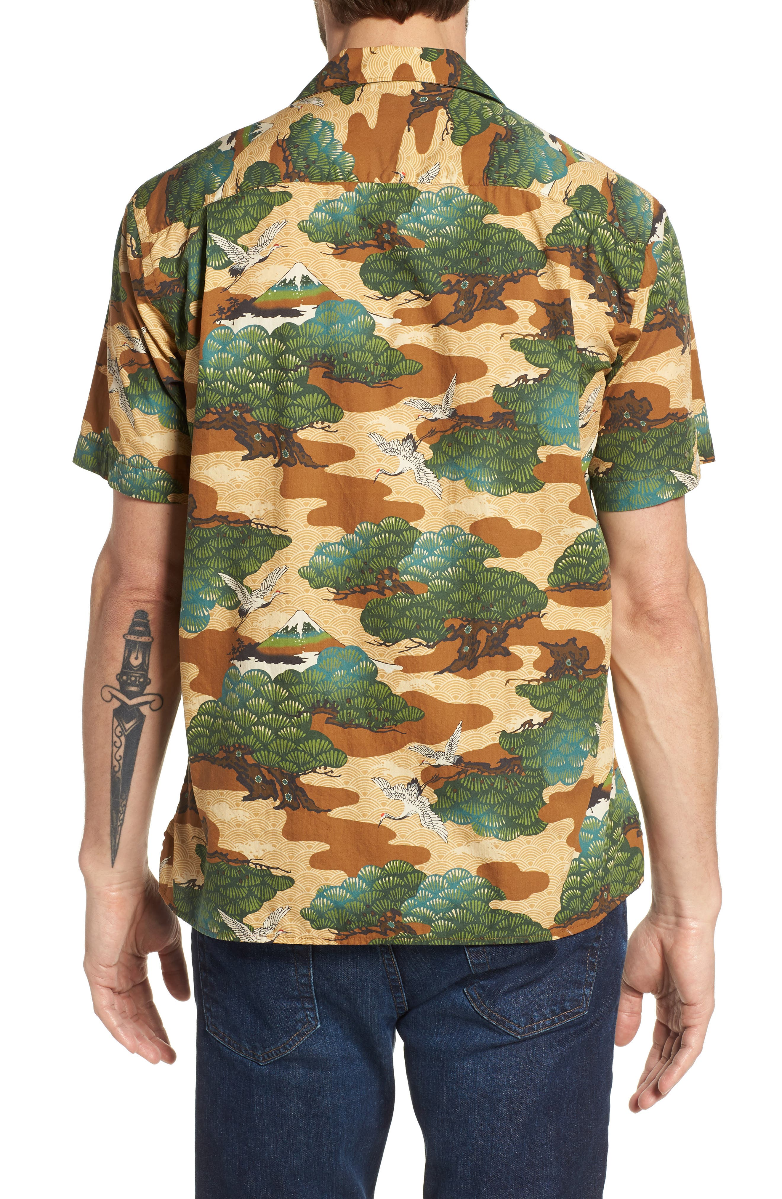 Camp Shirt,                             Alternate thumbnail 2, color,                             Multi