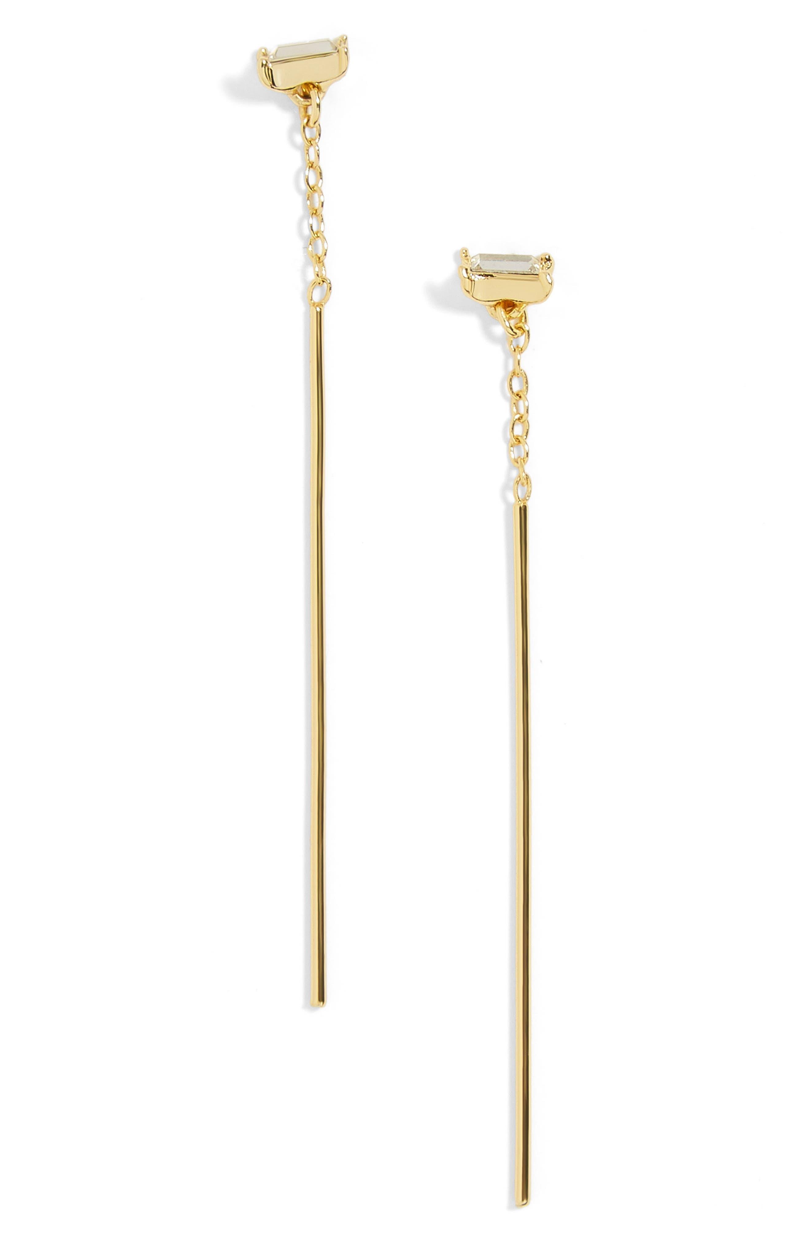 Aliyah Drop Earrings,                         Main,                         color, Gold