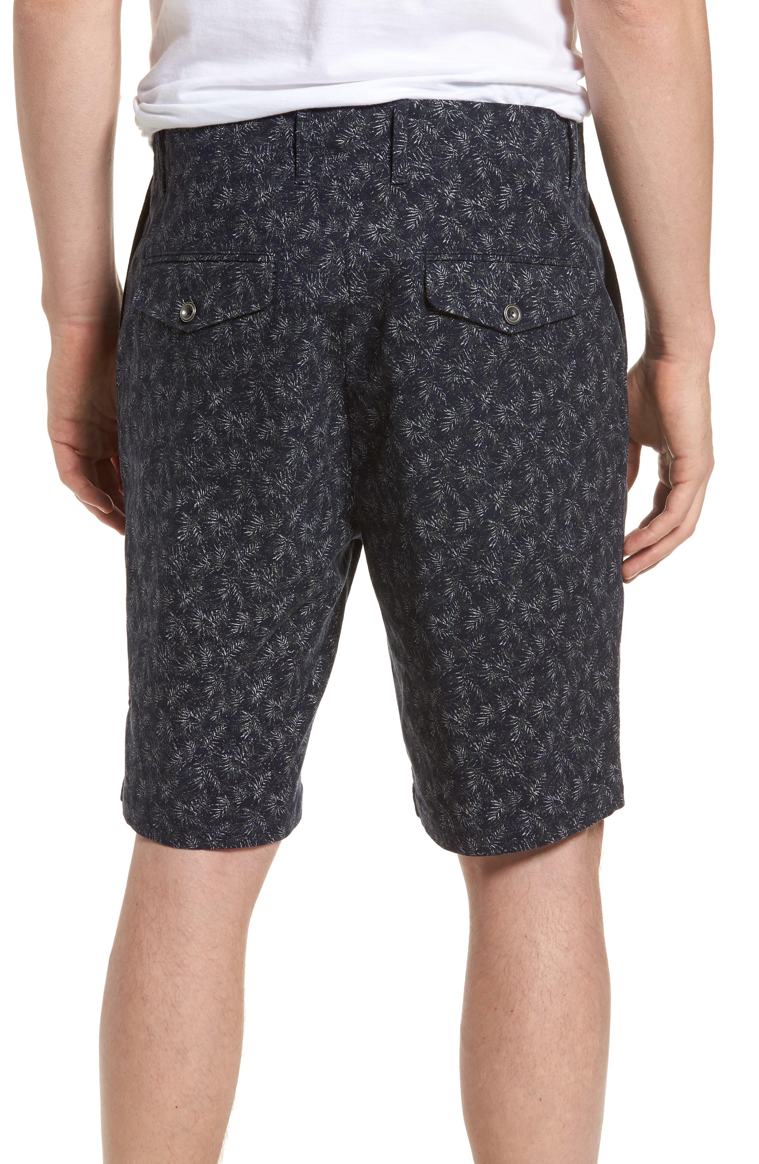 Dusky Forest Shorts,                             Alternate thumbnail 2, color,                             Indigo