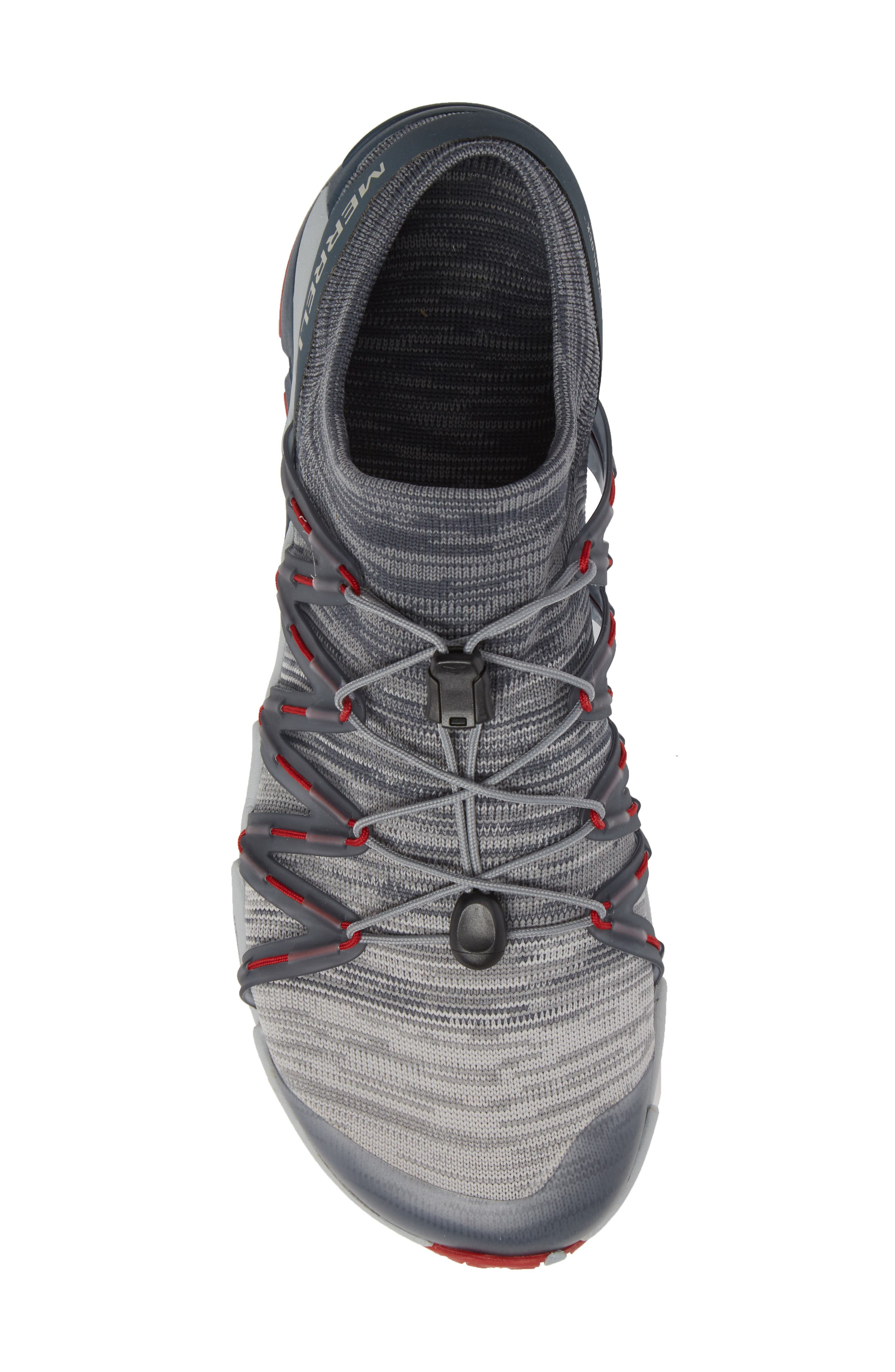 Bare Access Flex Knit Running Shoe,                             Alternate thumbnail 5, color,                             Vapor