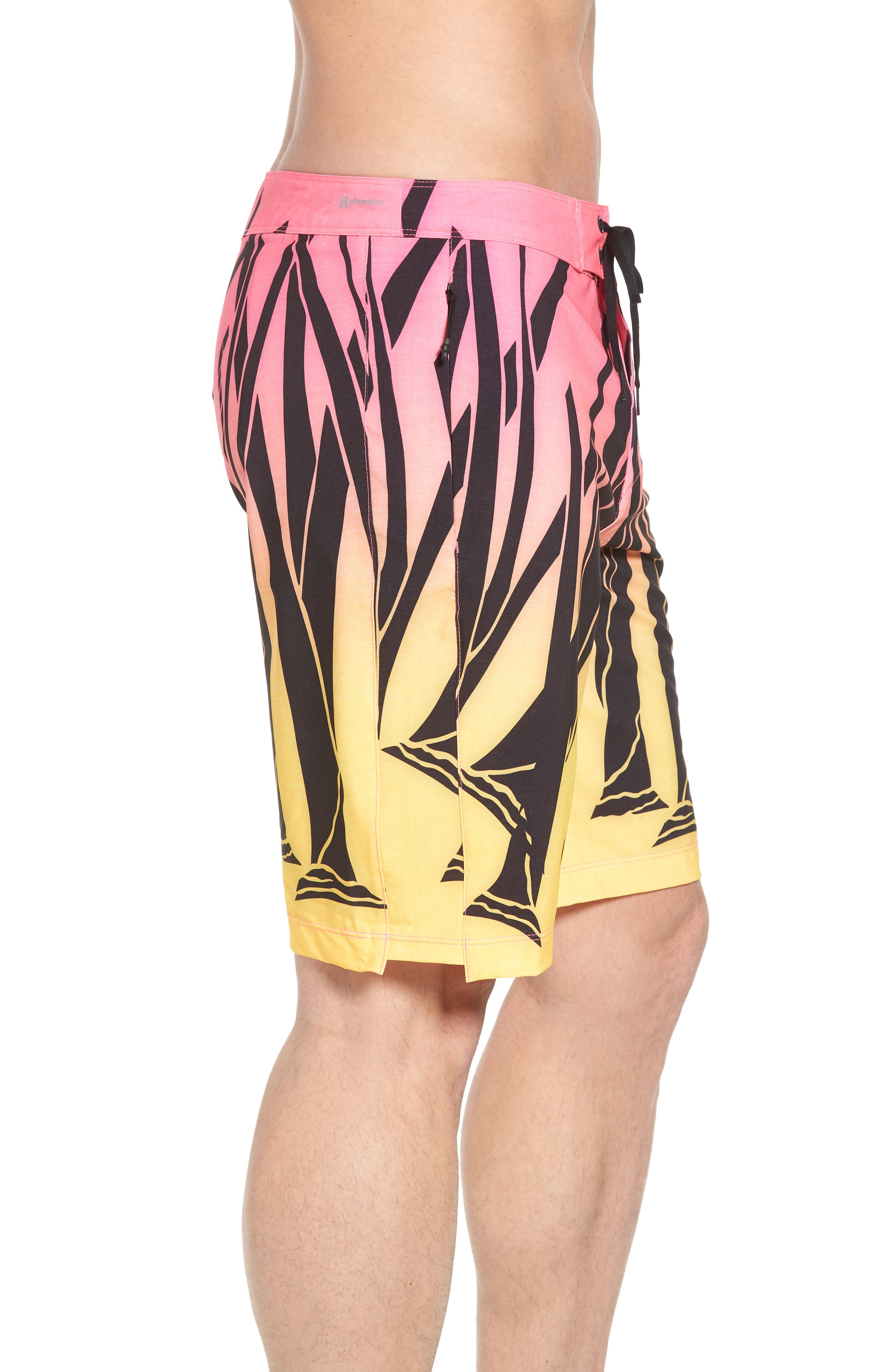 JJF IV Kahuliwae Board Shorts,                             Alternate thumbnail 4, color,                             Hyper Pink