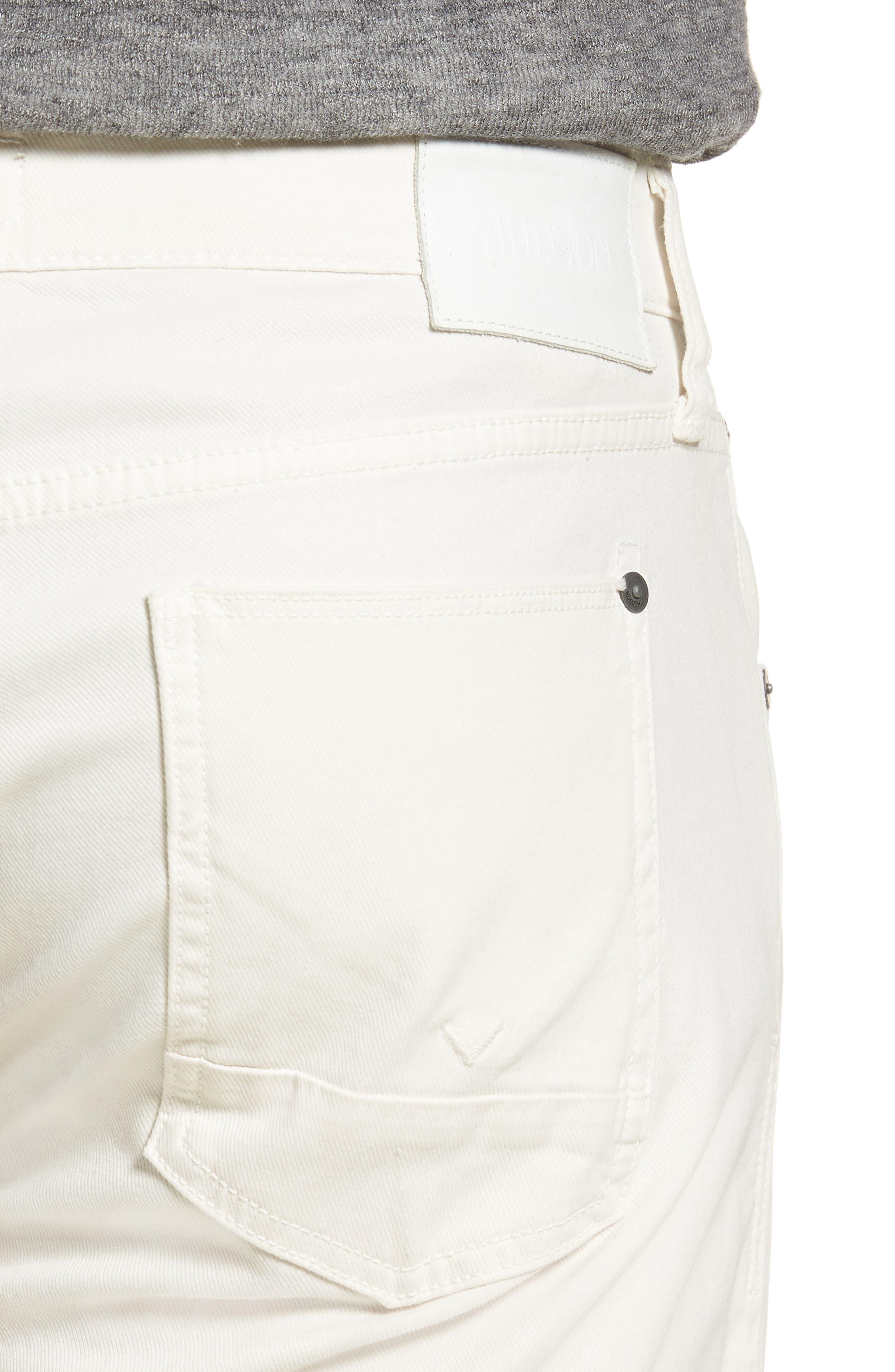 Blake Slim Fit Jeans,                             Alternate thumbnail 5, color,                             Off White