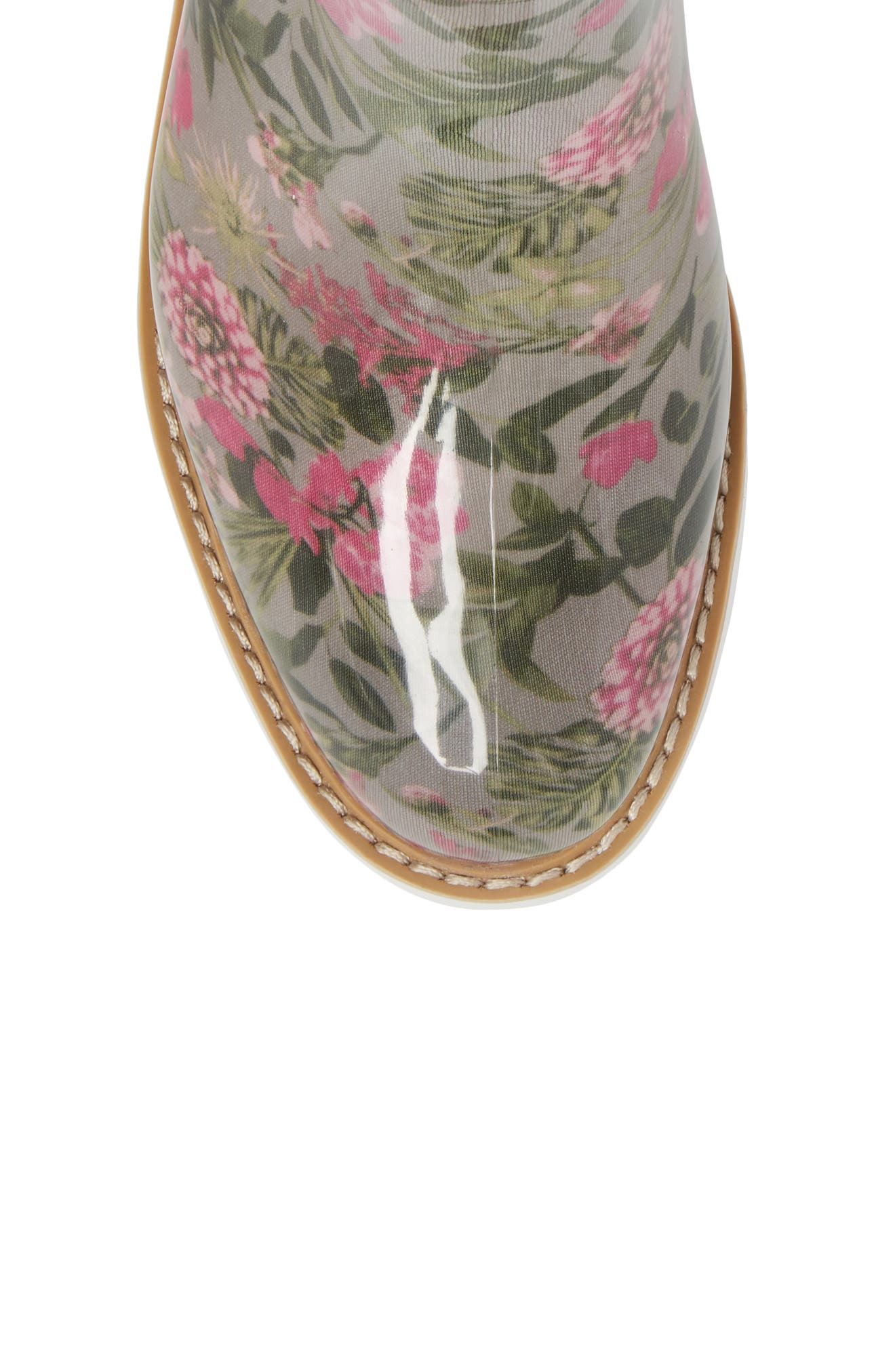 Kensington Chelsea Rain Boot,                             Alternate thumbnail 5, color,                             Tropical Floral