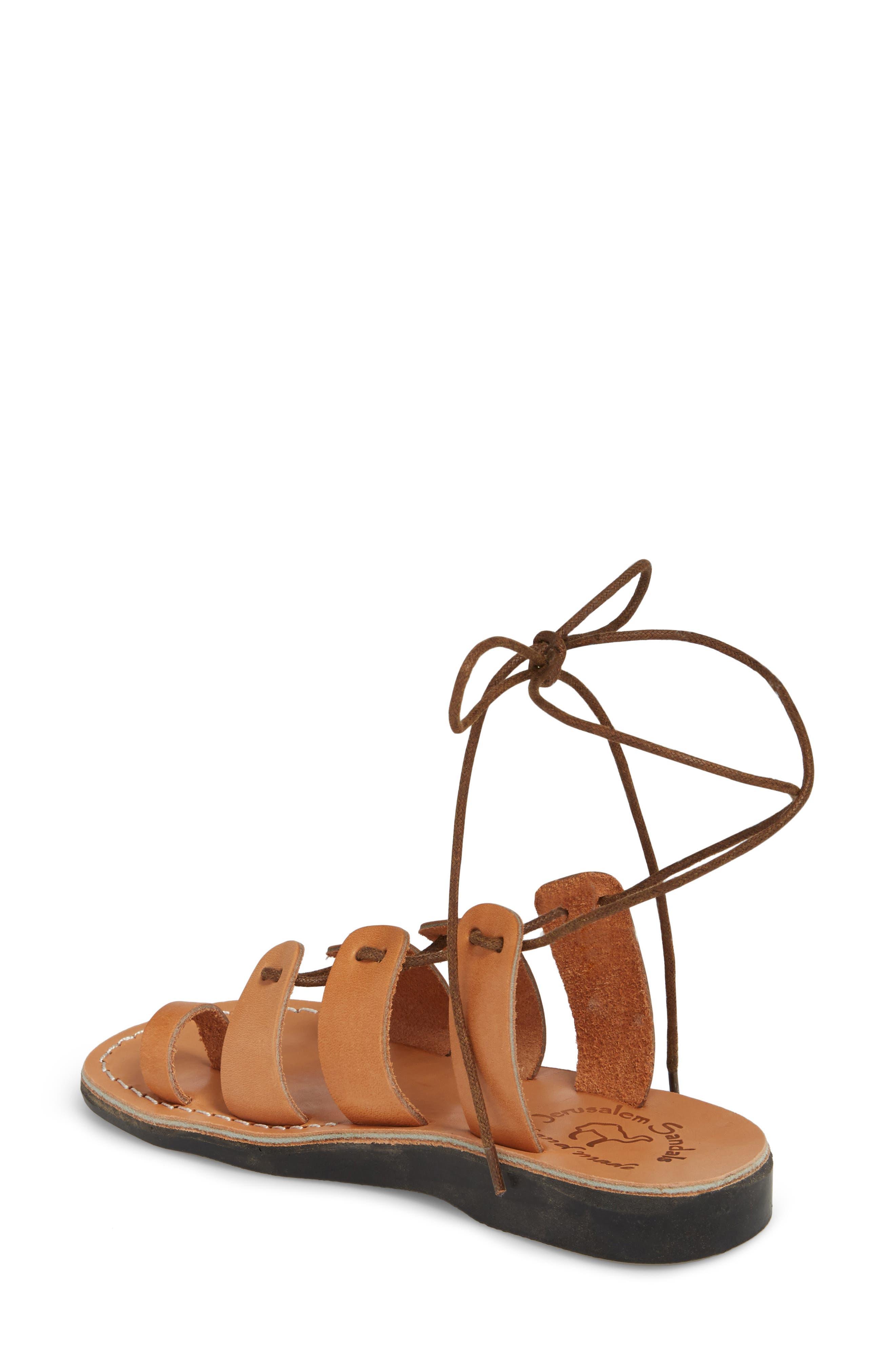Alternate Image 2  - Jerusalem Sandals Deborah Wraparound Laces Sandal (Women)