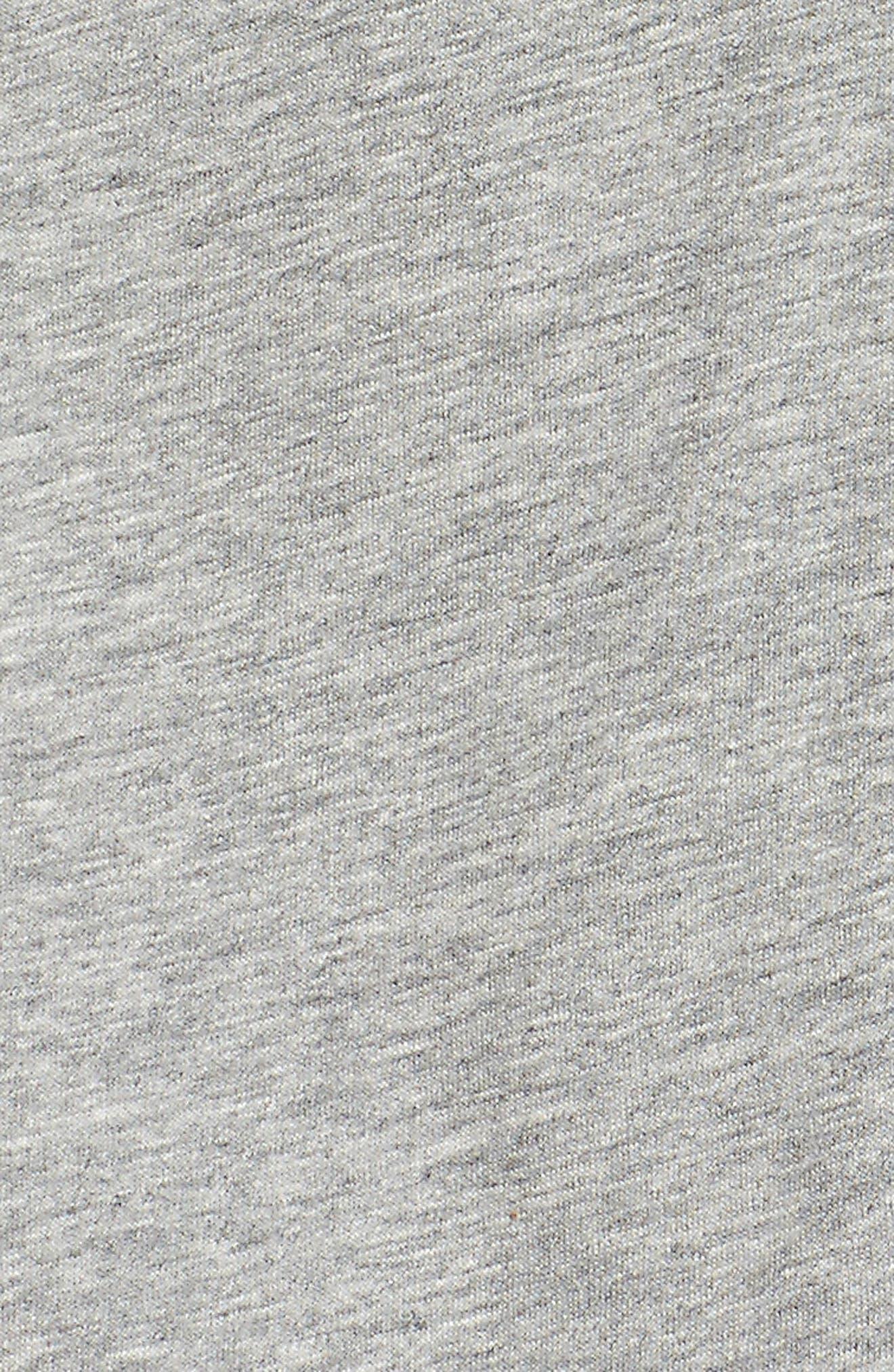 Court Tennis Hoodie,                             Alternate thumbnail 6, color,                             Dark Grey/ Black/ White