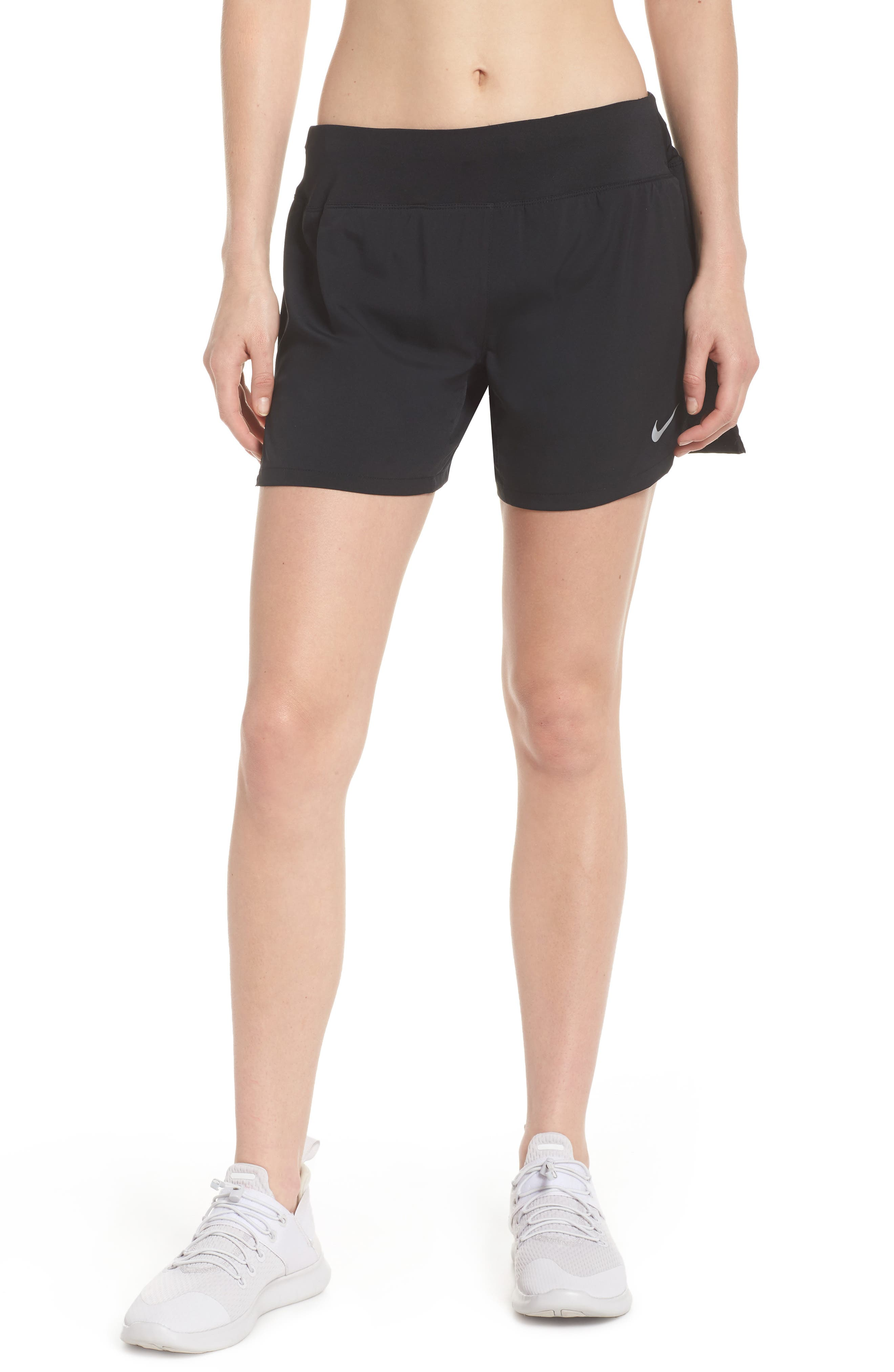 Flex Dri-FIT Running Shorts,                             Main thumbnail 1, color,                             Black