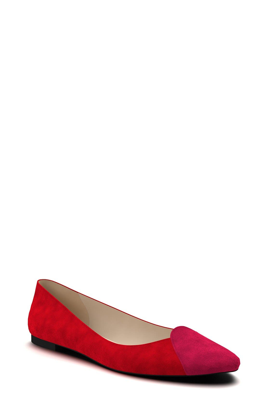 Shoes of Prey Loafer Ballet Flat (Women) (Nordstrom Exclusive)