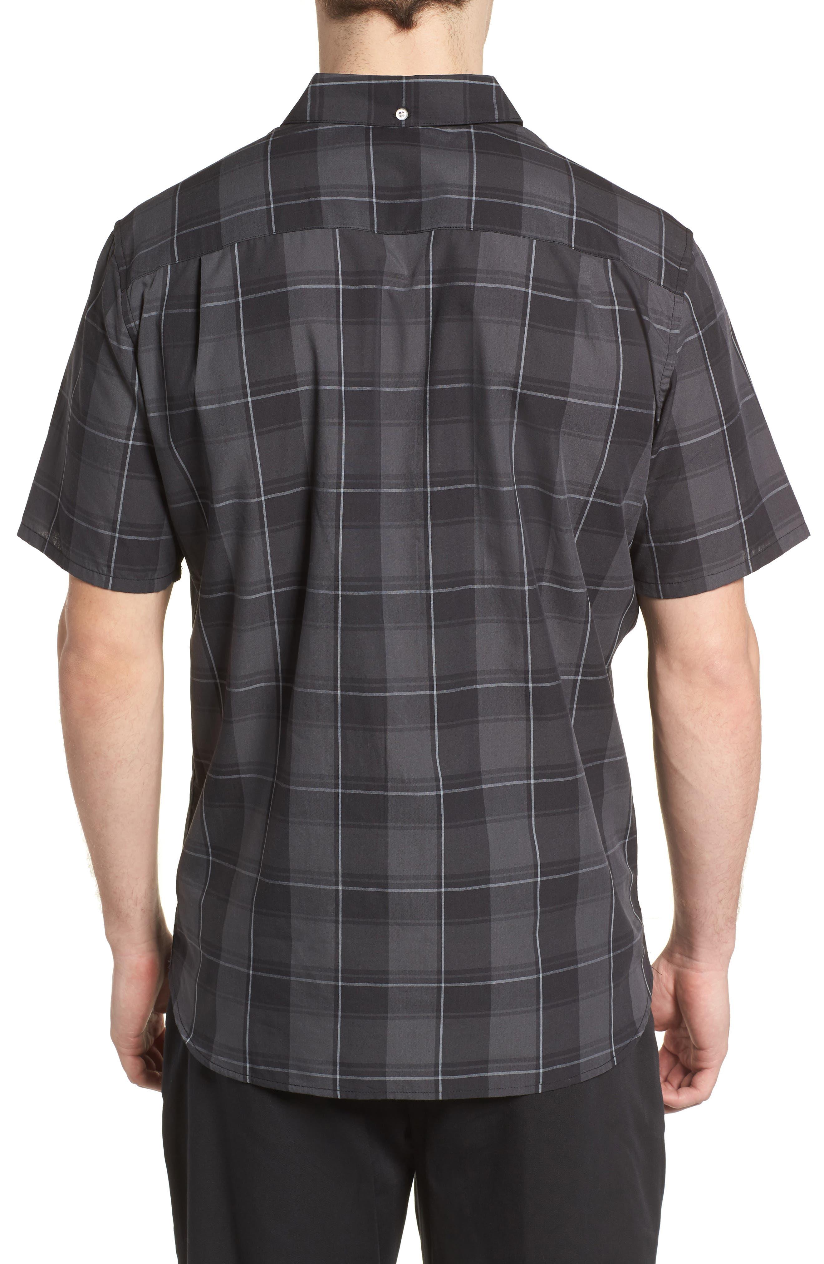 Dri-FIT Castell Shirt,                             Alternate thumbnail 3, color,                             Black