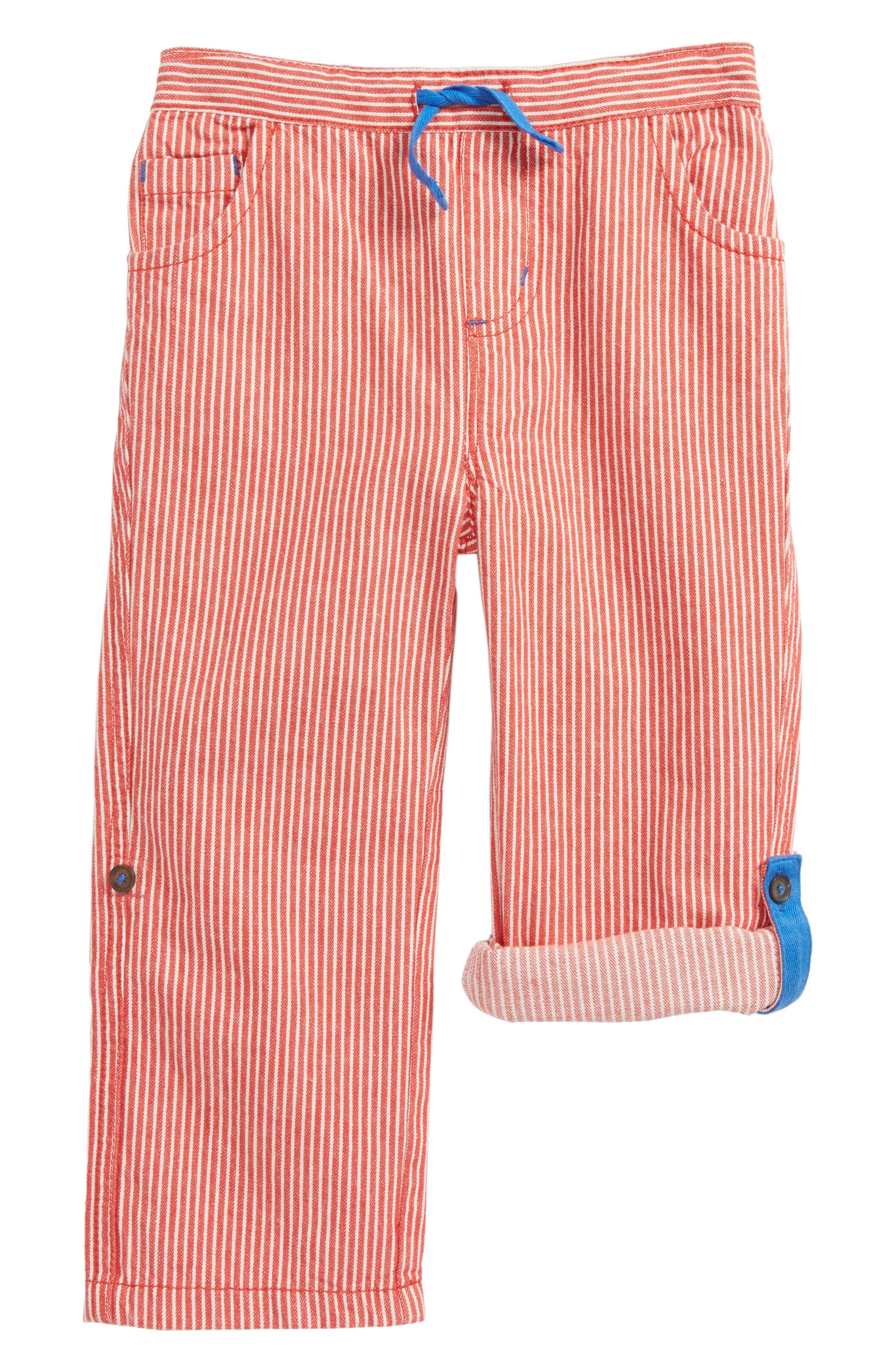 Mini Boden Roll-Up Pants (Baby Boys & Toddler Boys)