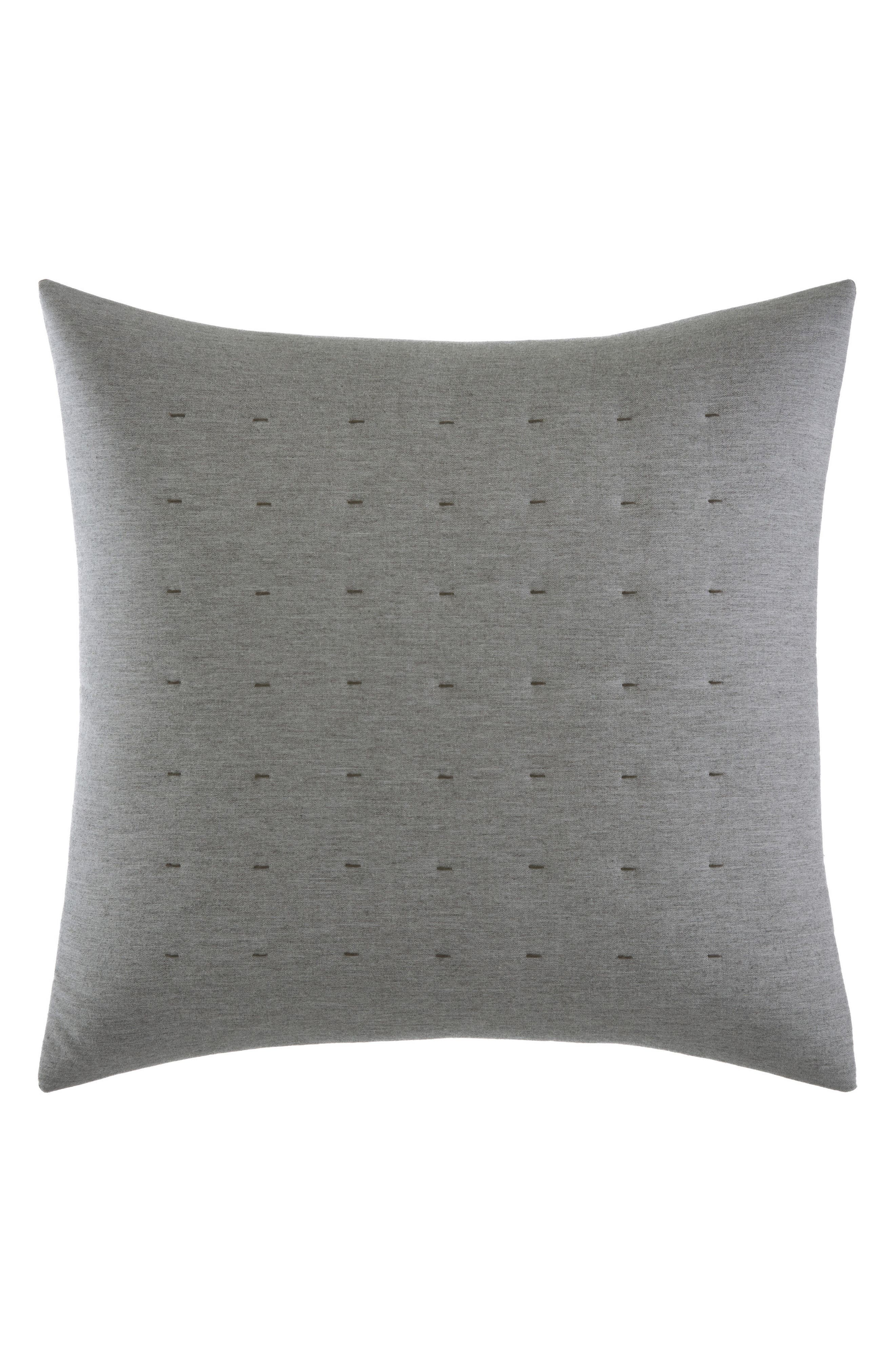 Tuille Accent Pillow,                         Main,                         color, Medium Gray